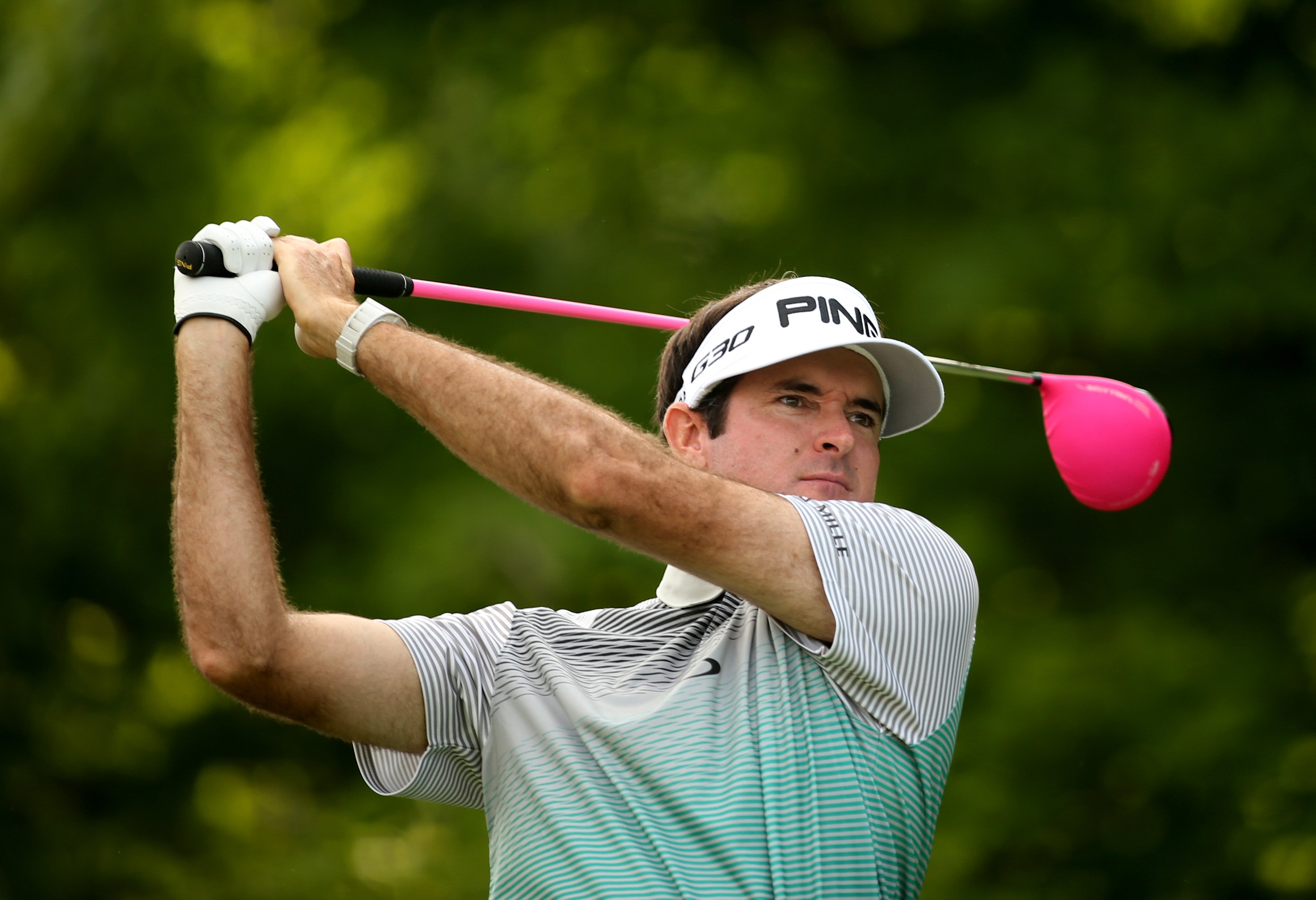 Bubba Watson beats Saints rookie quarterback in throwing competition