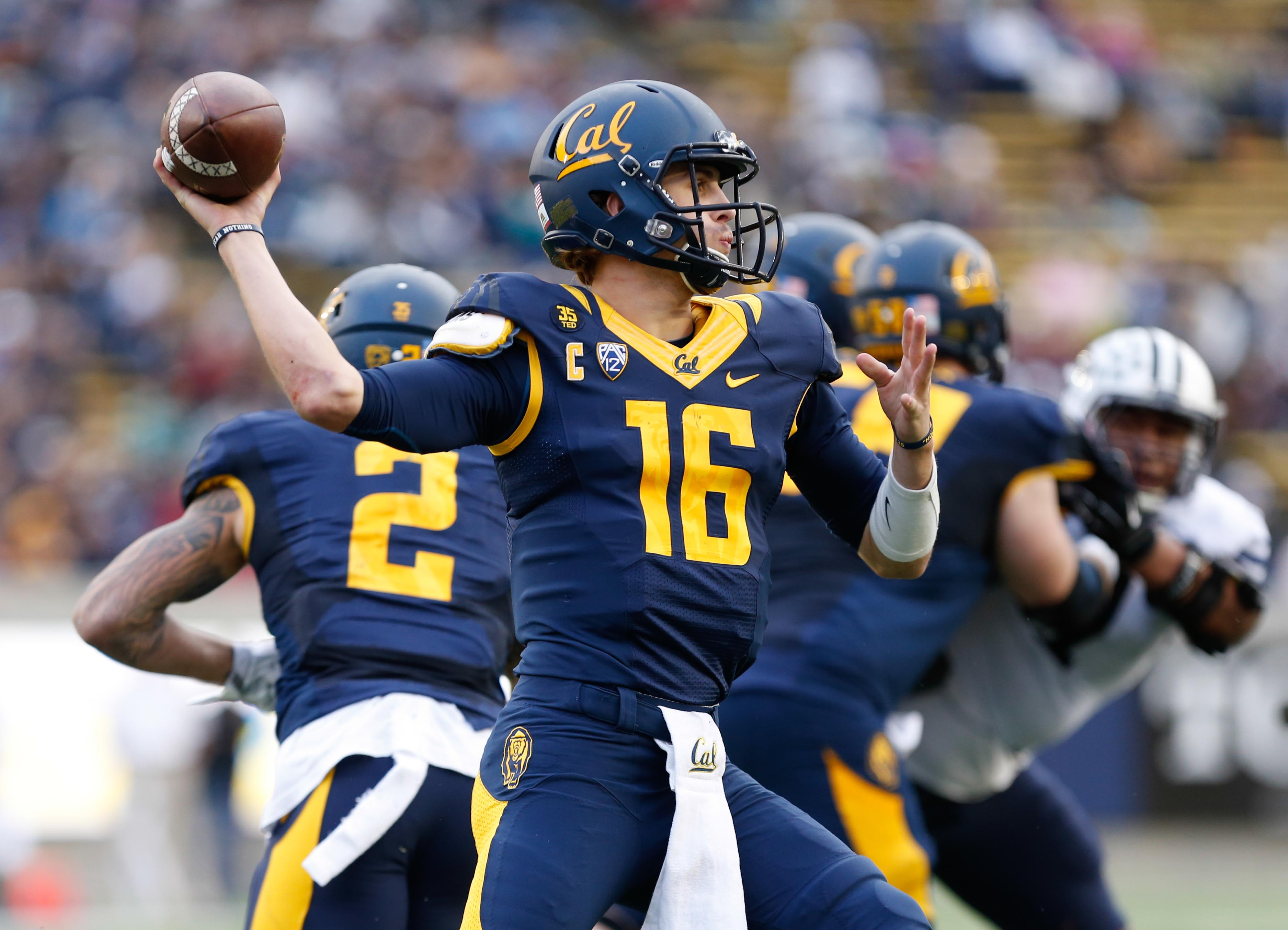 Cal QB Jared Goff should put up video game numbers again in 2015.