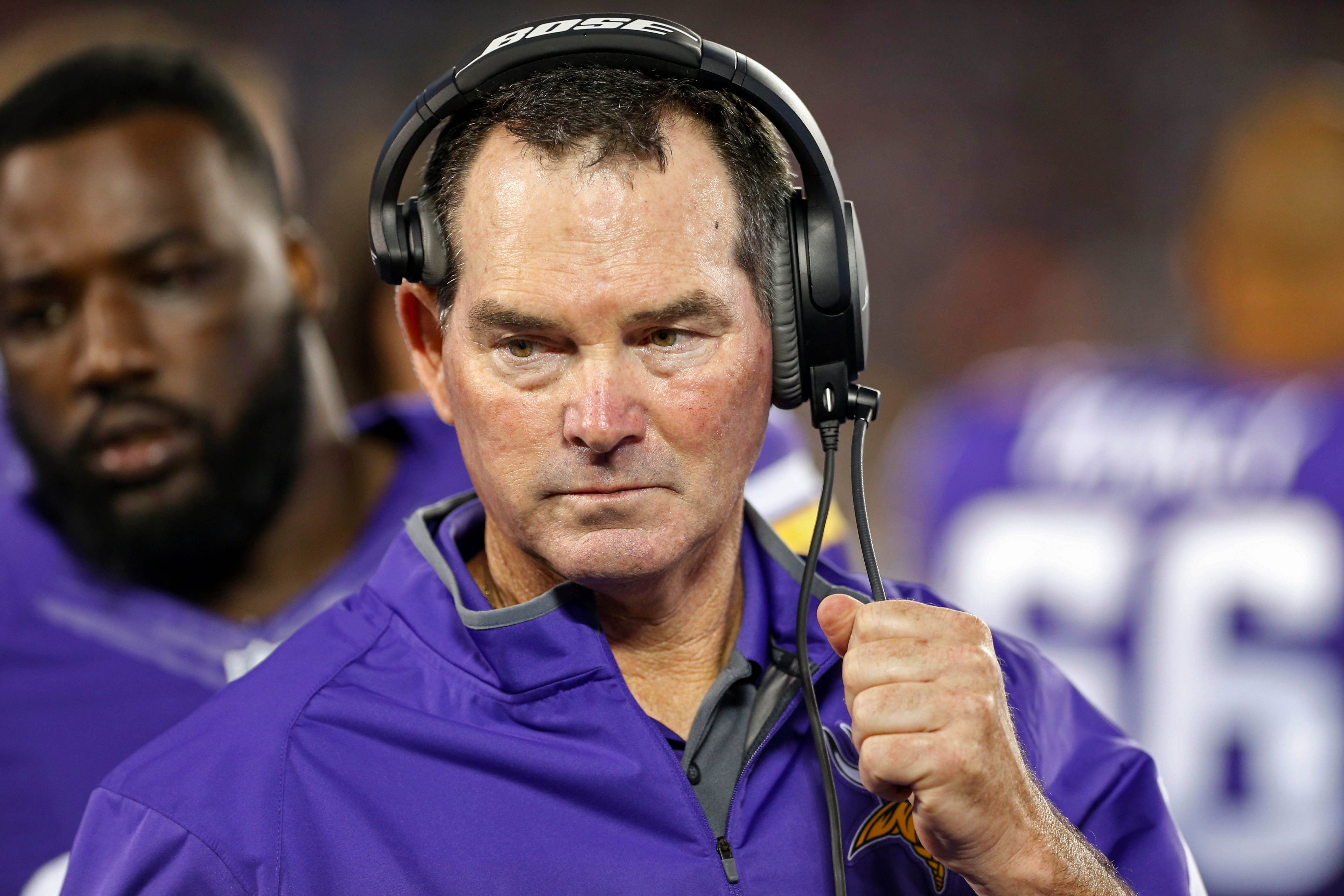 The look of a man that may or may not want to kill his kicker.