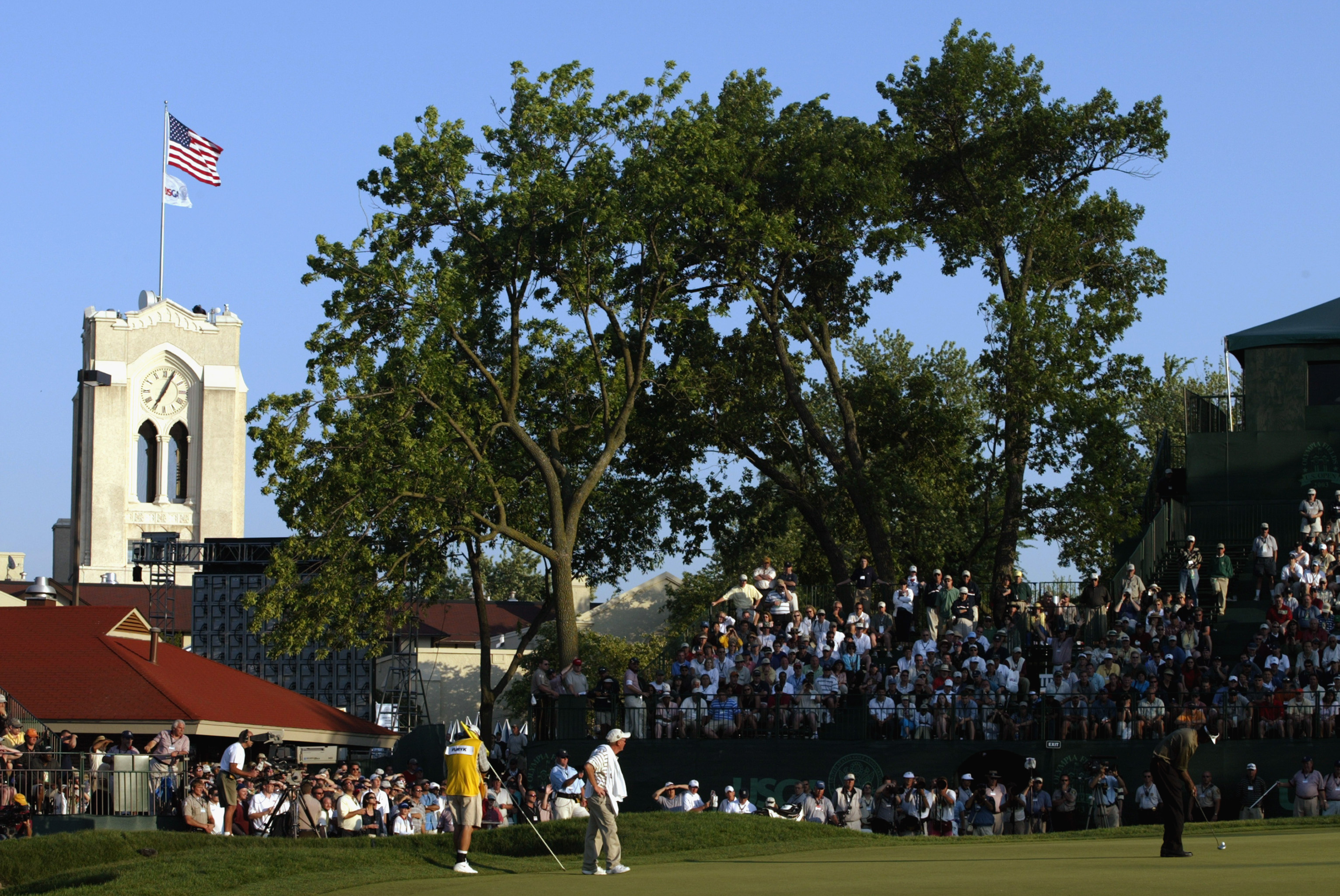 The clubhouse at Olympia Fields
