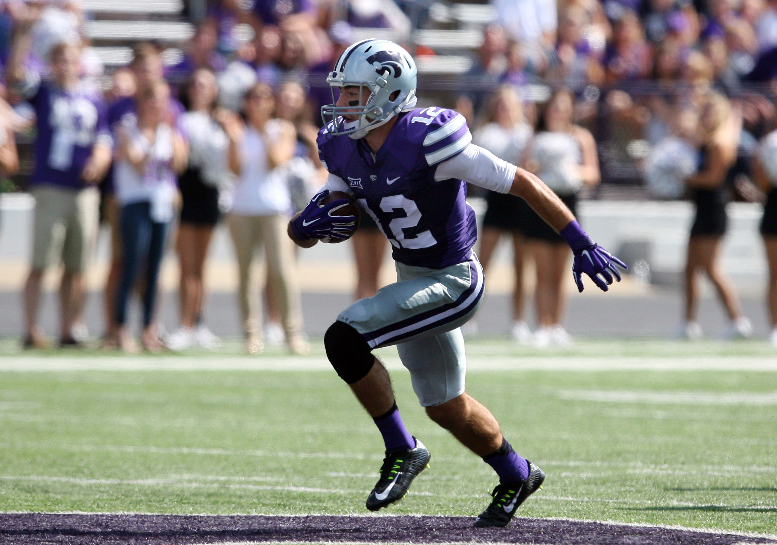 So far, this is Stanton Weber's only career reception. Will he break through as a wide receiver in his senior season?