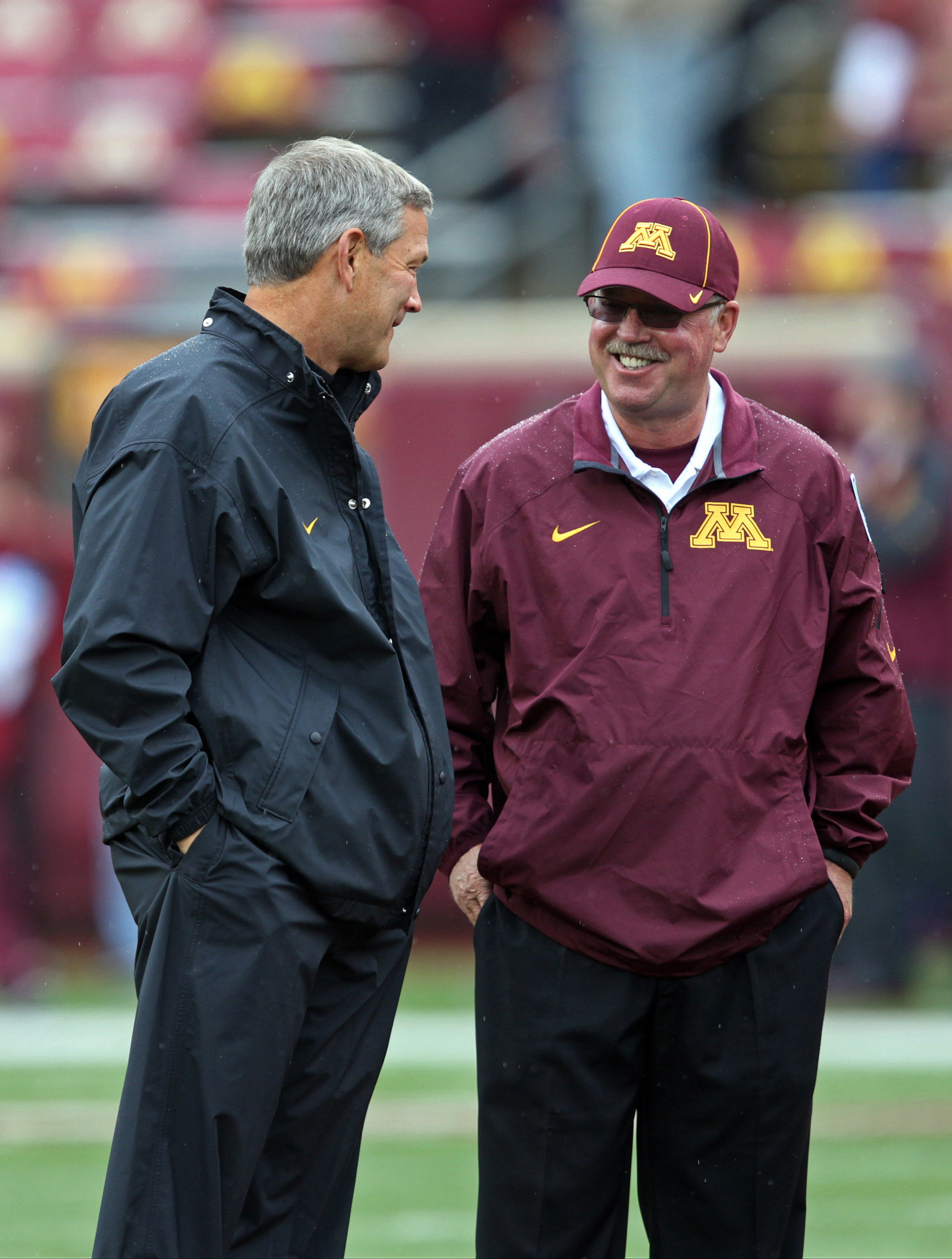 """""""I hope we're not going to hurt your boys too bad."""" - Jerry Kill"""