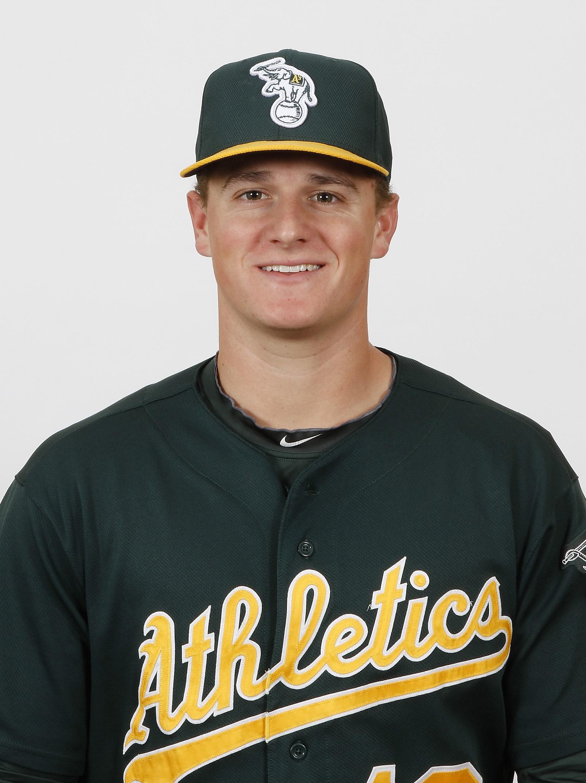Stockton Ports third baseman Matt Chapman