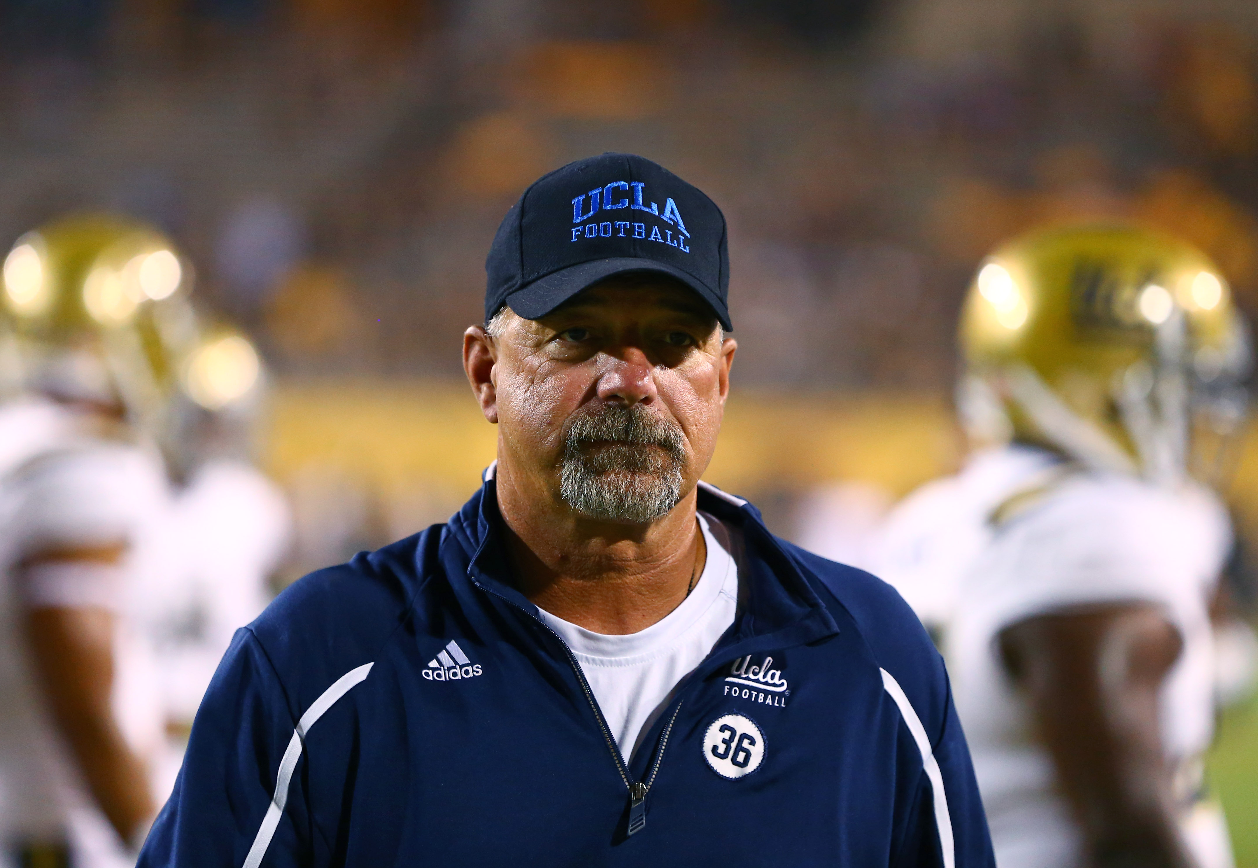 Noel Mazzone says he's not a two quarterback guy.