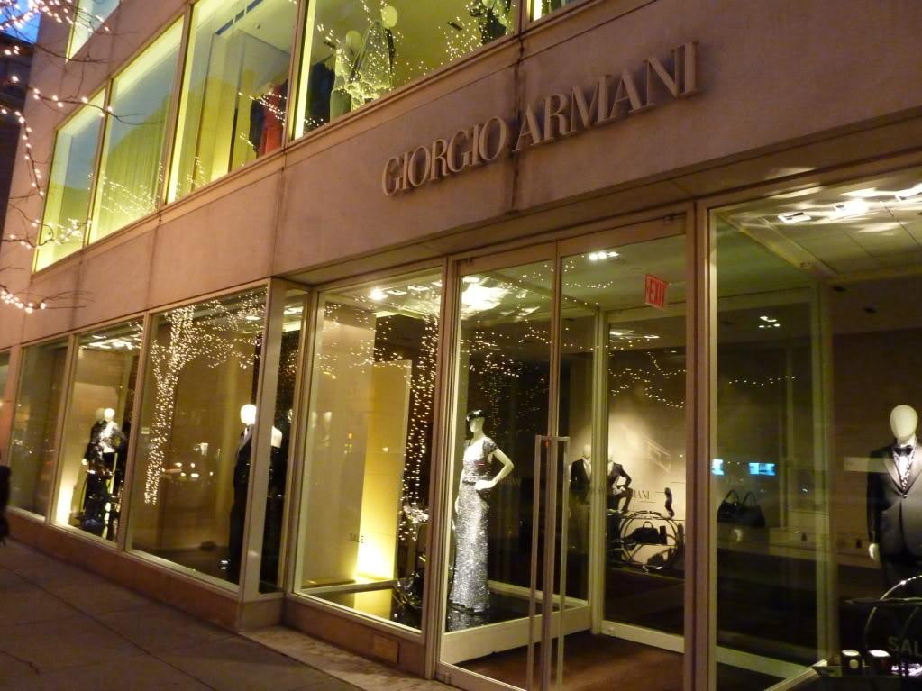 Giorgio armani racked ny for Armani new york
