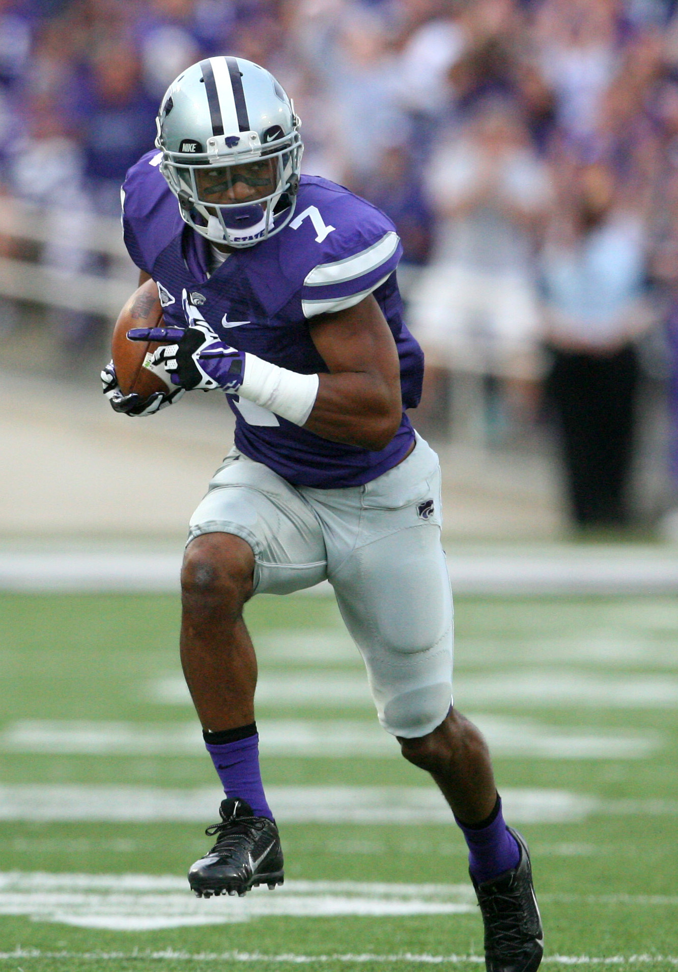 Kip Daily was the last K-State defensive back to wear No. 7. Now it will be inherited by Hunter Knoblauch.