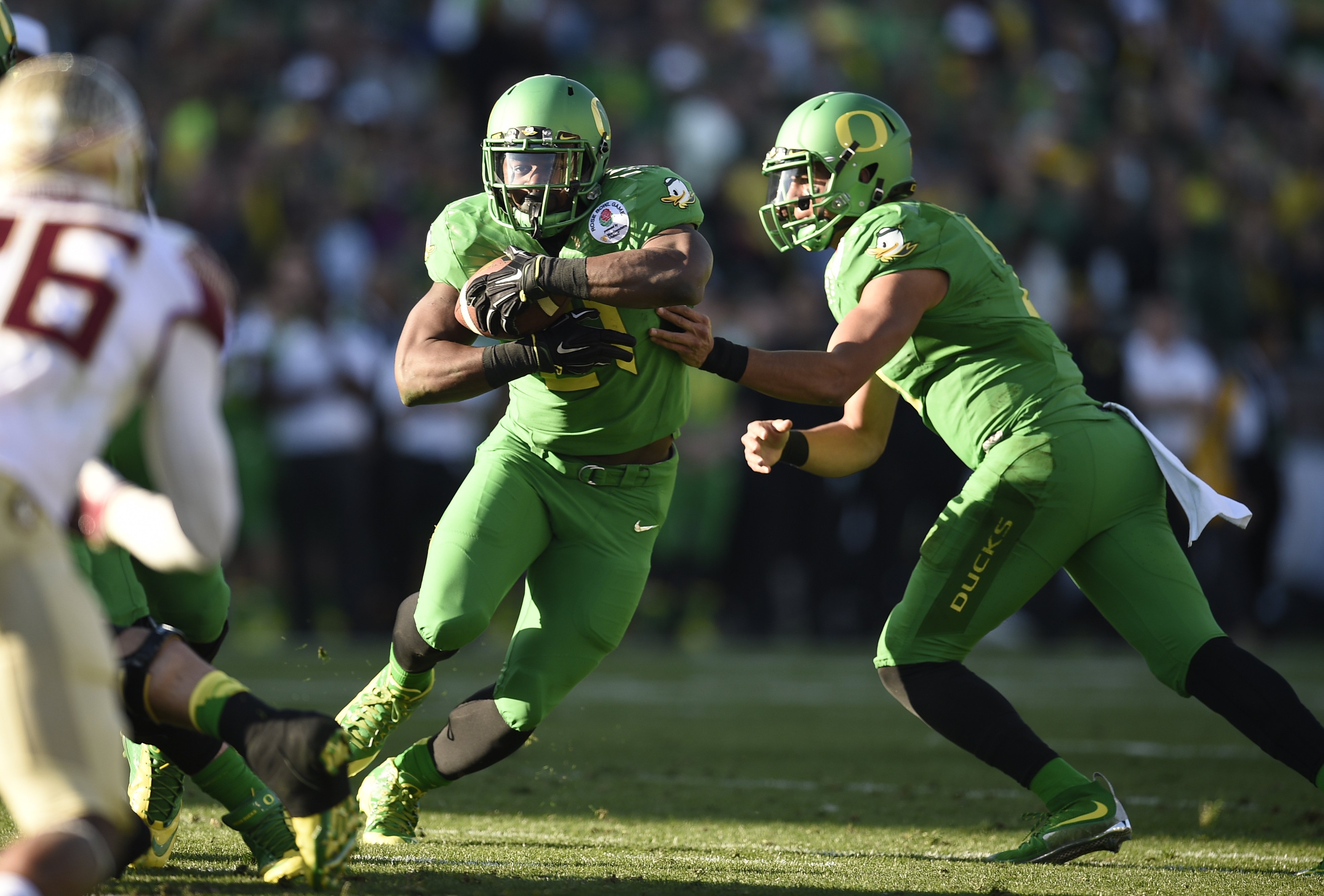 Royce Freeman is one of the stars of Oregon's vaunted offense.