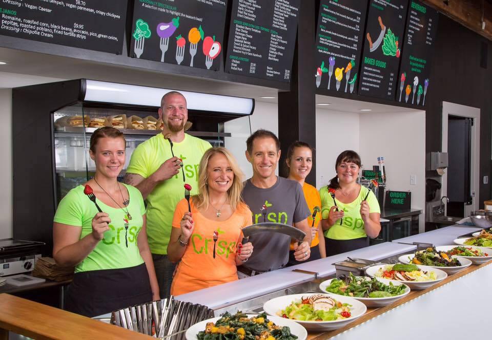 The Crisp salad bar
