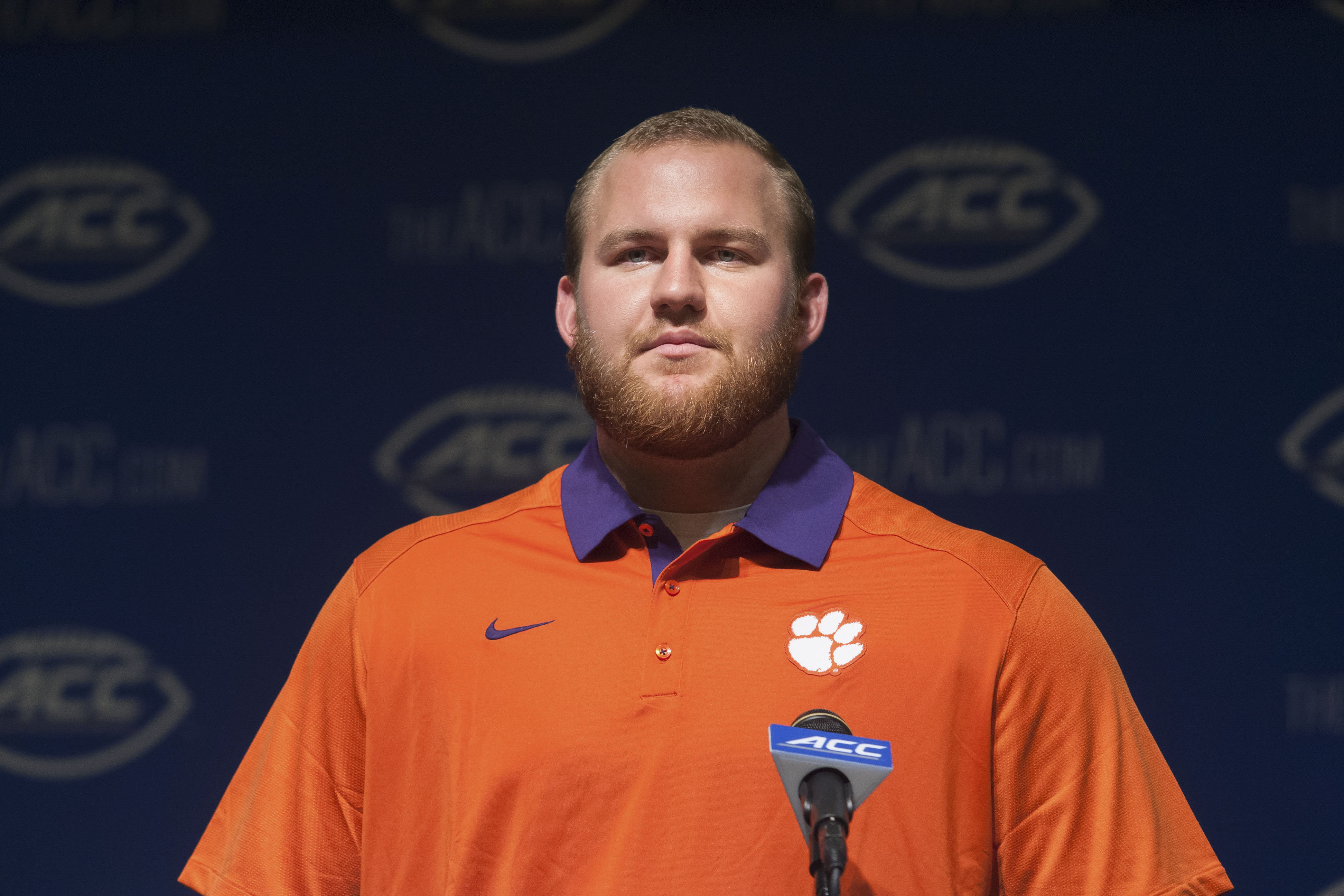 Eric Mac Lain hopes to be a senior leader for this seasons hogs.