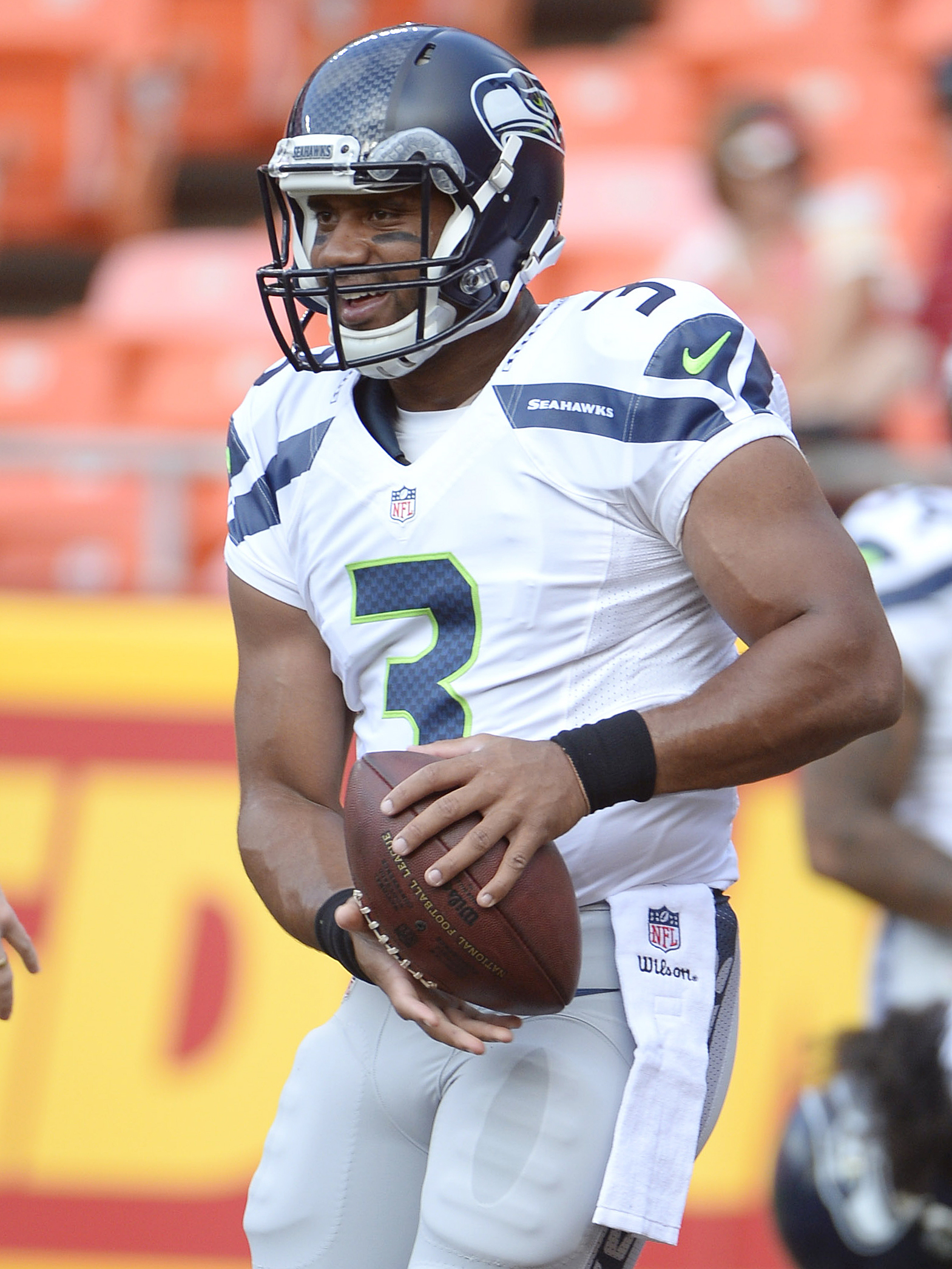 Russell Wilson says his miracle water comments were 'perceived wrong'