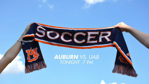 Auburn Soccer opens their home schedule tonight!