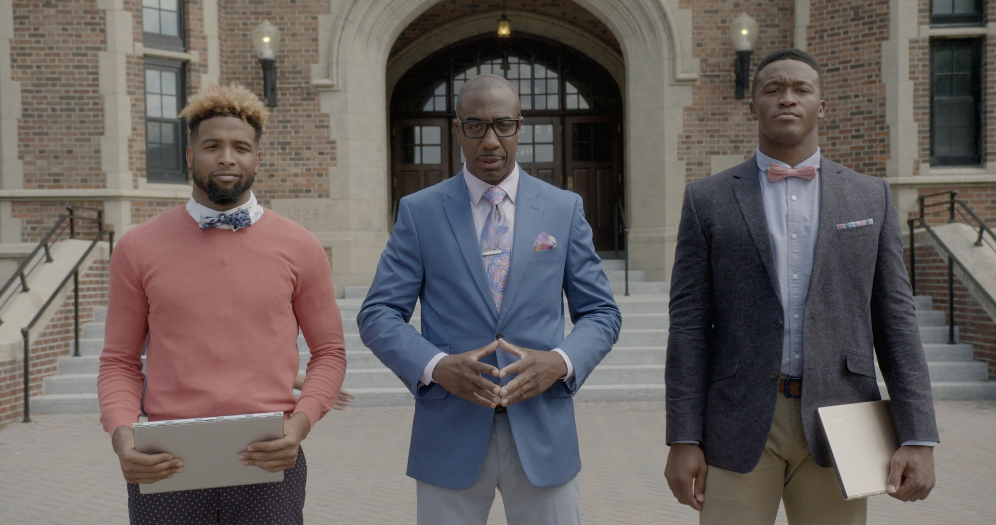 Learn Fantasy Football From Professors Beckham Jr., Forté, Charles, Thomas, Lacy, and Murray