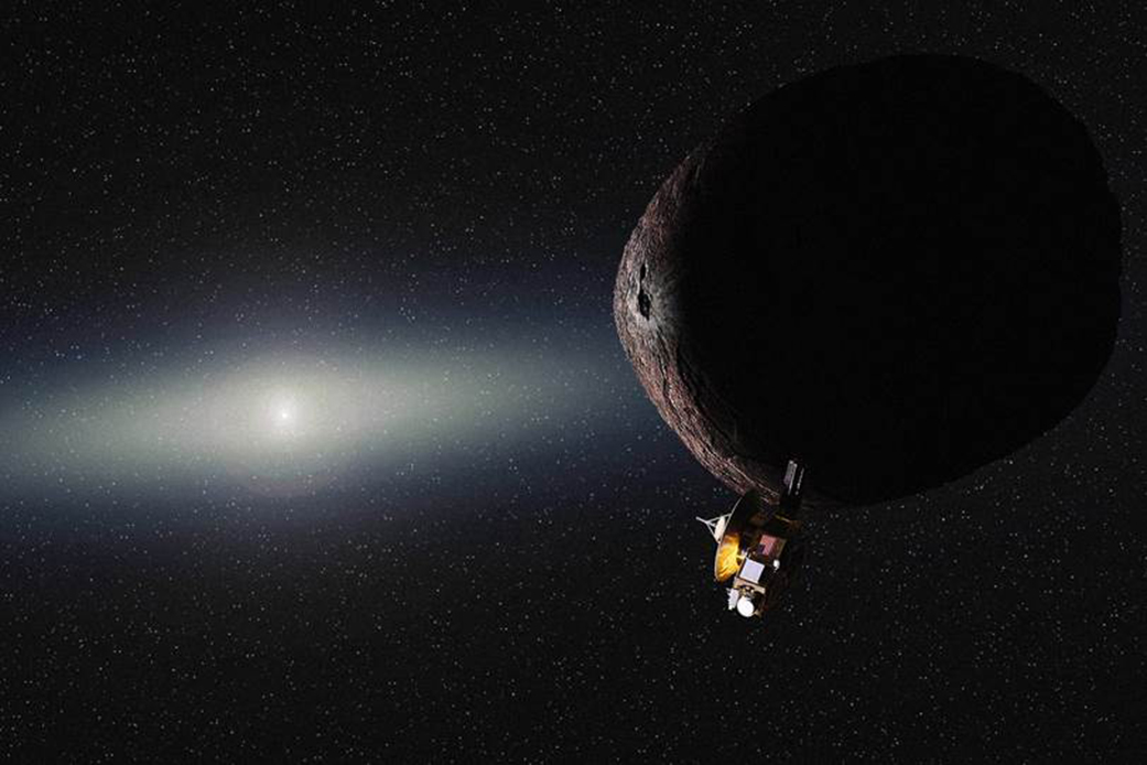 NASA's New Horizons spacecraft has a new destination: a 30-mile-wide chunk of ice