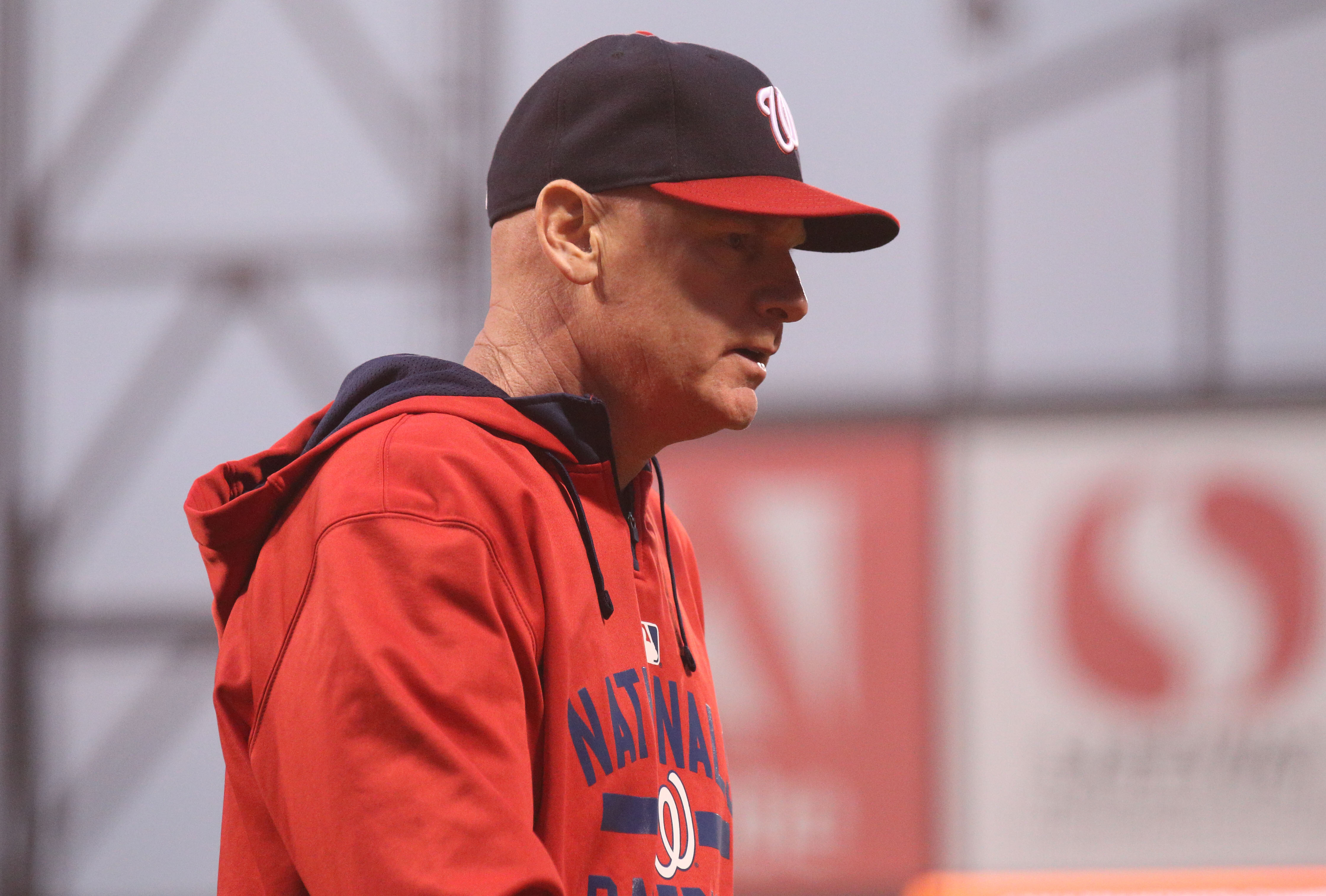 Matt Williams double switched to move his pitcher's spot up in the order. Huh?