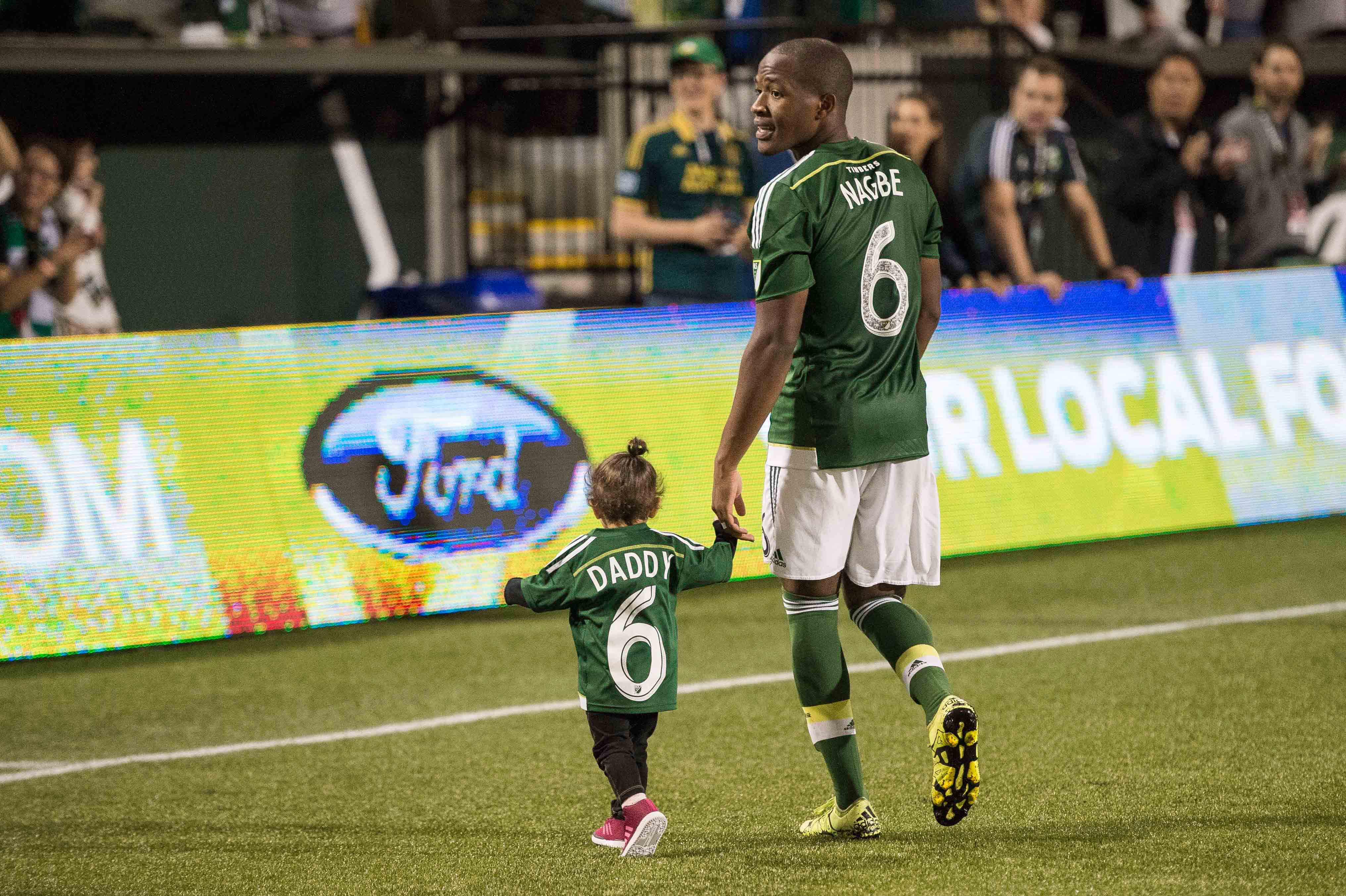 Darlington Nagbe could be eligible to play for the USMNT by mid-September.