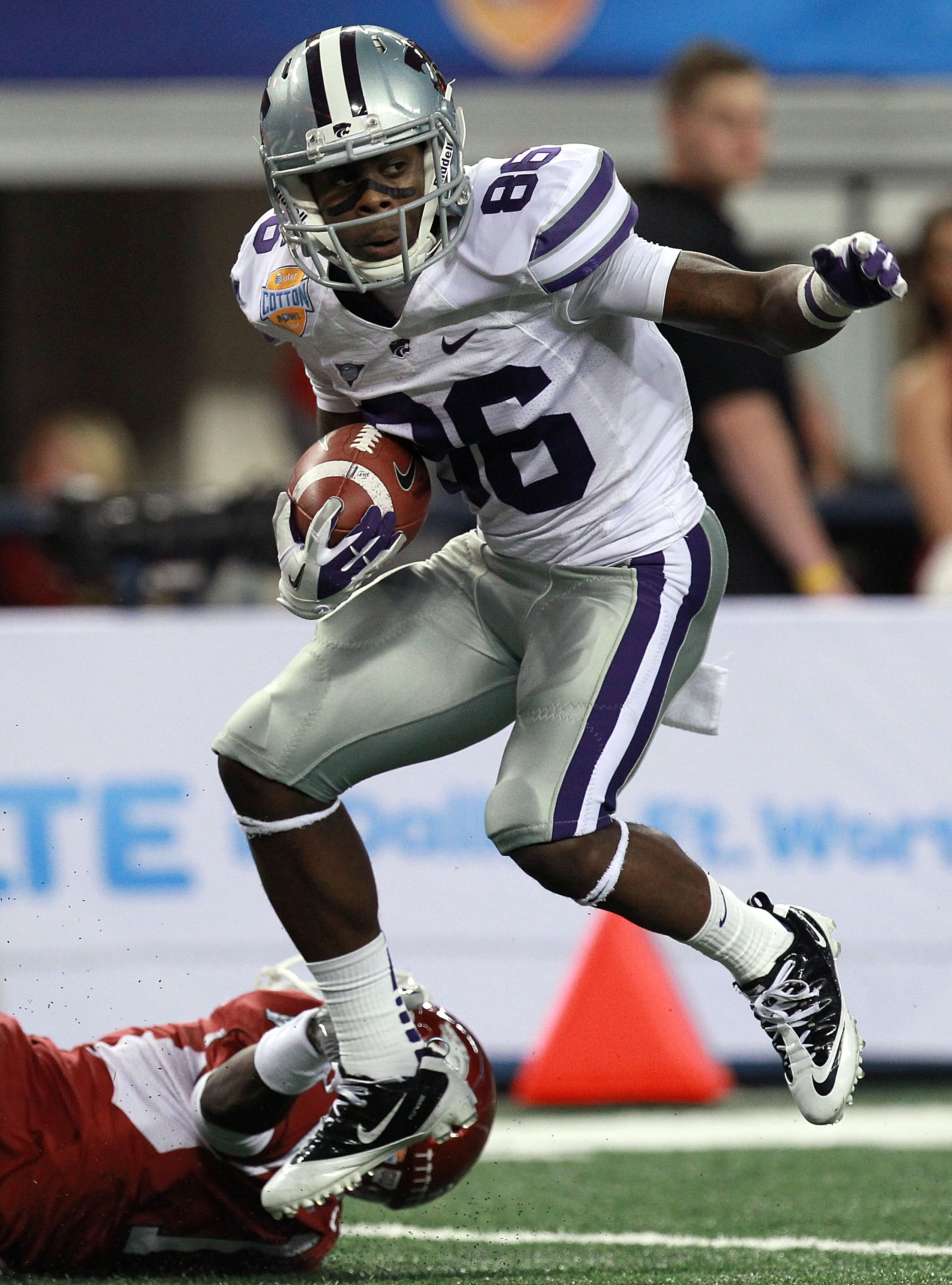 Don't be carried away: Dominique Heath is not going to be the next Tyler Lockett. But he might be the next Tramaine Thompson.