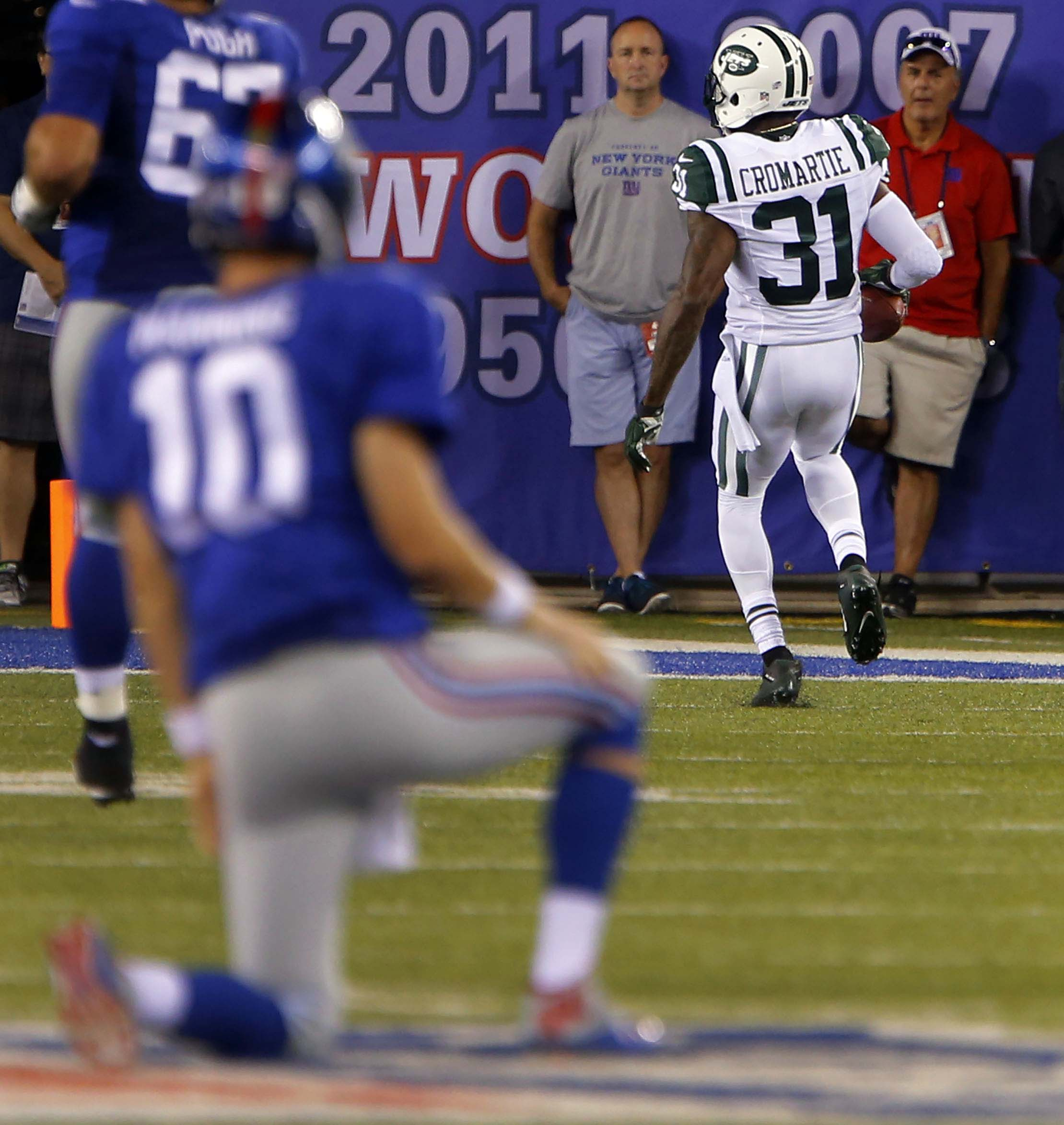 The Jets-Giants 'Snoopy Bowl' reveals teams on divergent paths