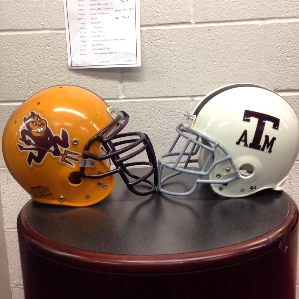How bout a little flashback Friday matchup with the Sun Devils #BTHOasu