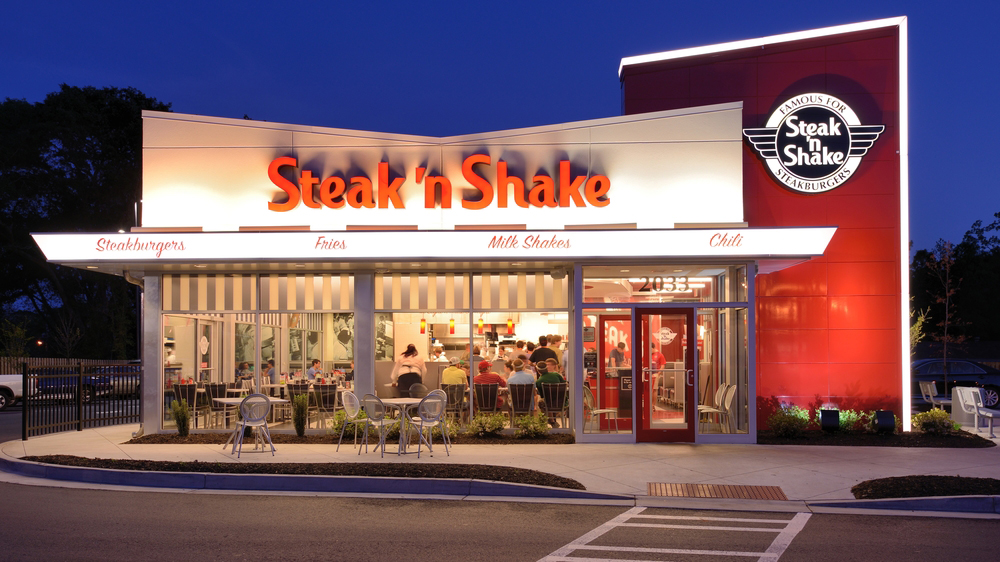 Steak 'n Shake, a classic American brand, was founded in in Normal, Illinois by Gus Belt who pioneered the concept of premium burgers and milkshakes. For over 80 years, the company's name has been symbolic of its heritage.4/10(57).