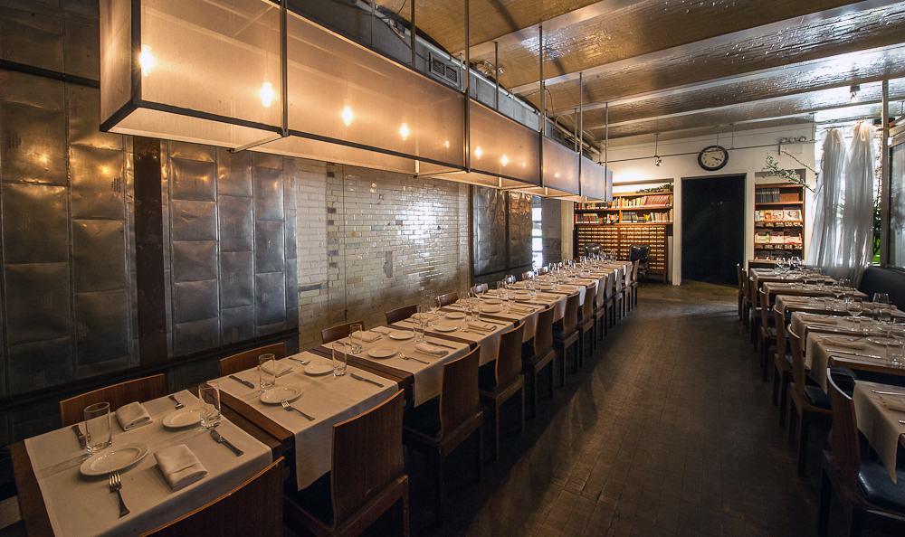 [The dining room at Public.  When was the last time you dined here? It's still hopping.]