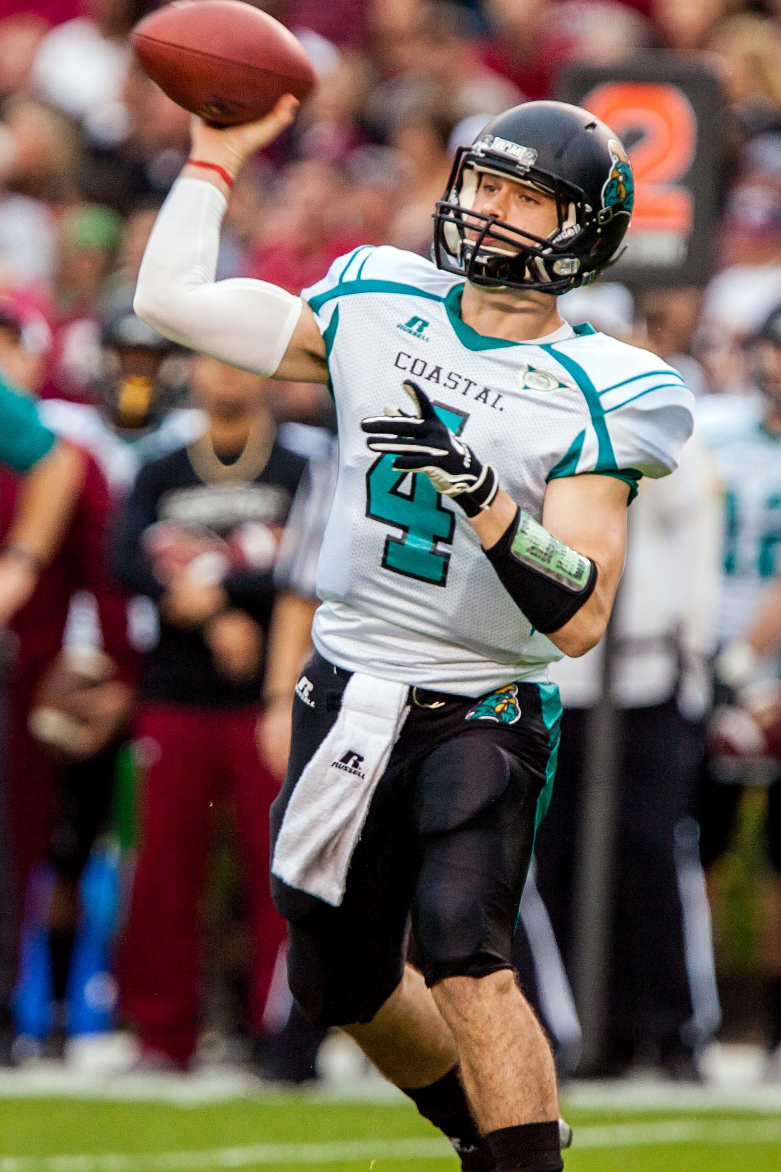 Alex Ross returns to lead the Chanticleers this year, and then they're joining the FBS.