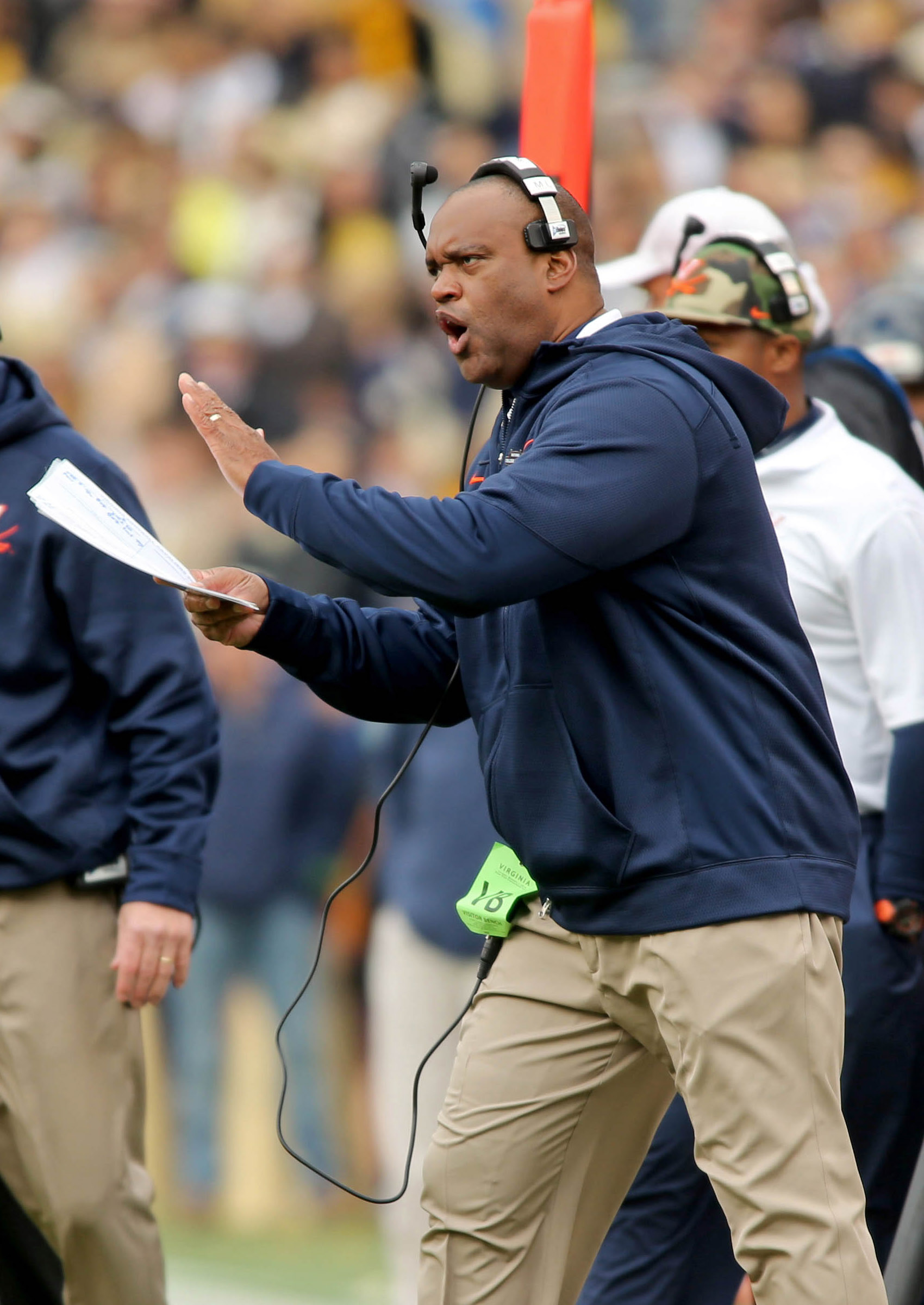 Mike London is on the hot seat at Virginia.