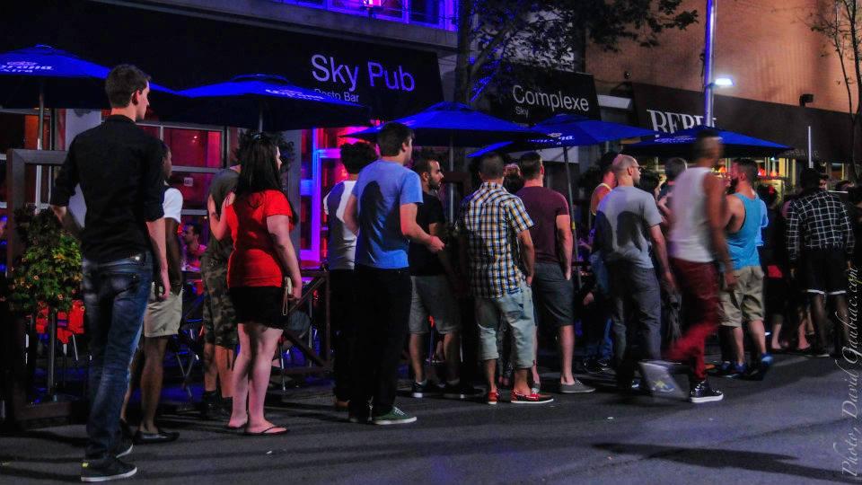 Peter Sergakis' Sky bar complex