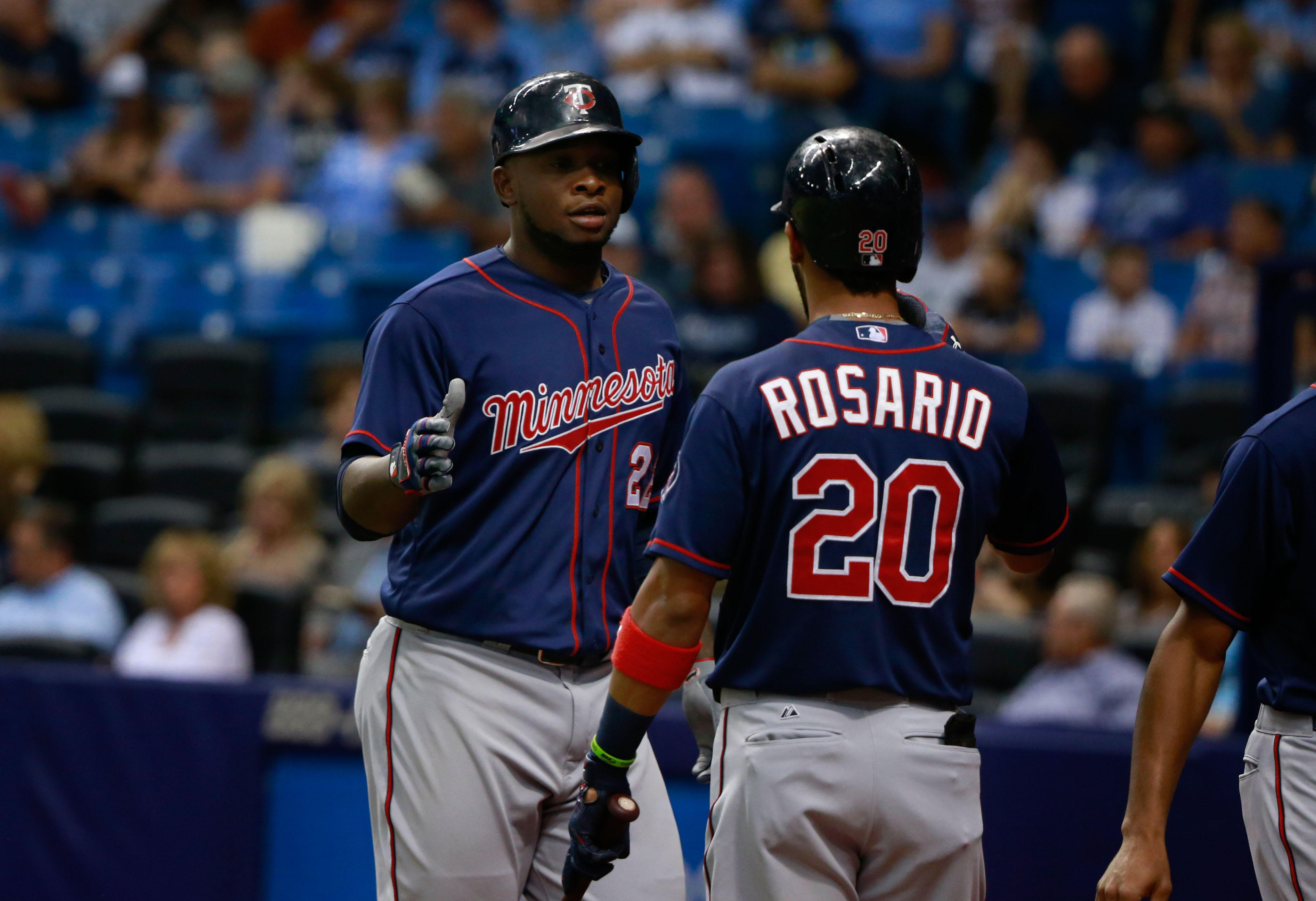 Miguel Sano and Eddie Rosario