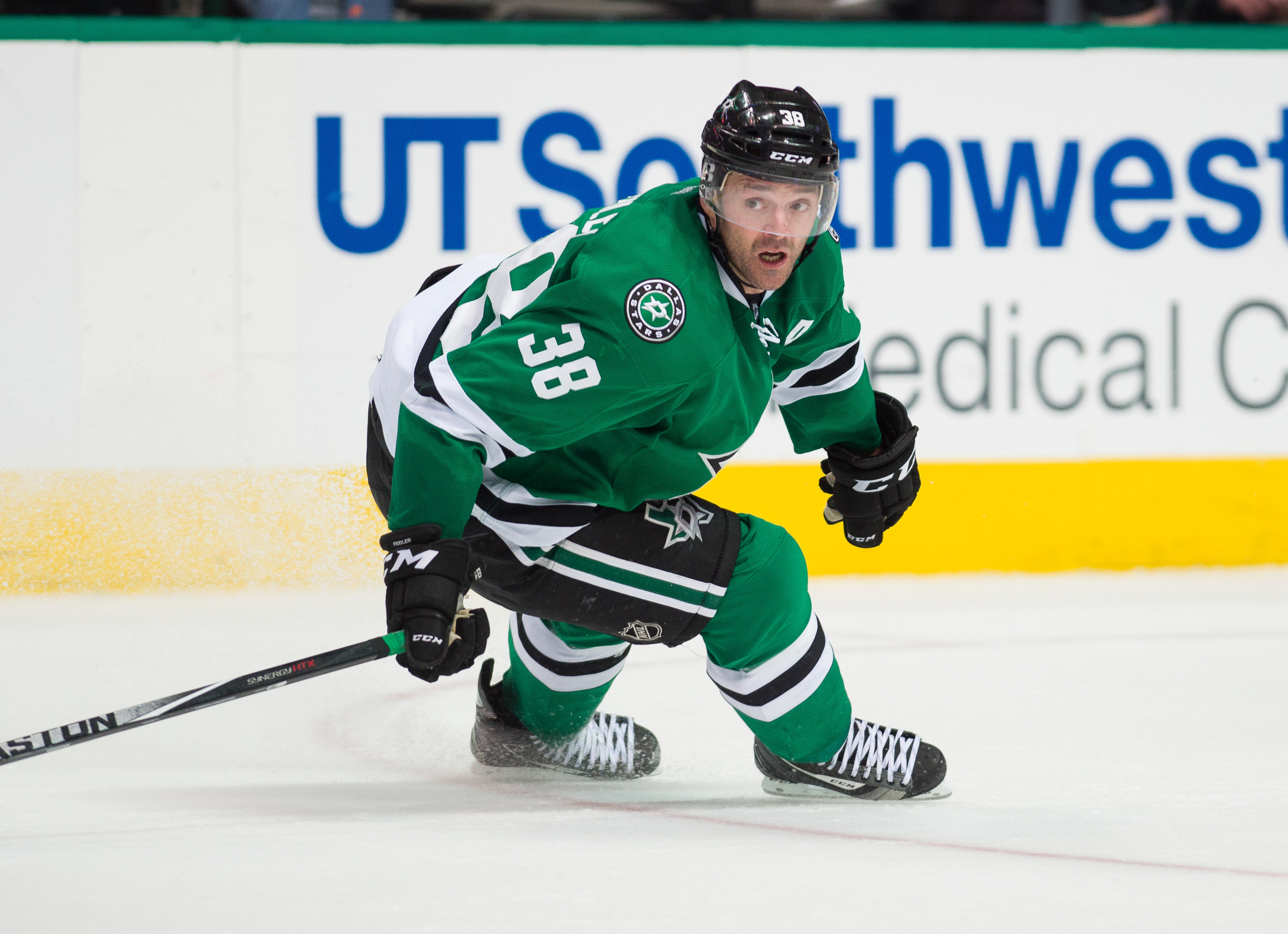The question is never IF Vernon Fiddler will contribute to the Dallas Stars, it's HOW he'll contribute.