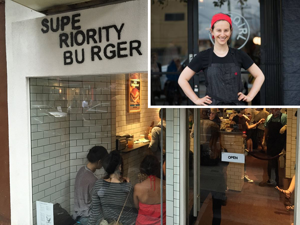 [Superiority Burger photo by Nick Solares]