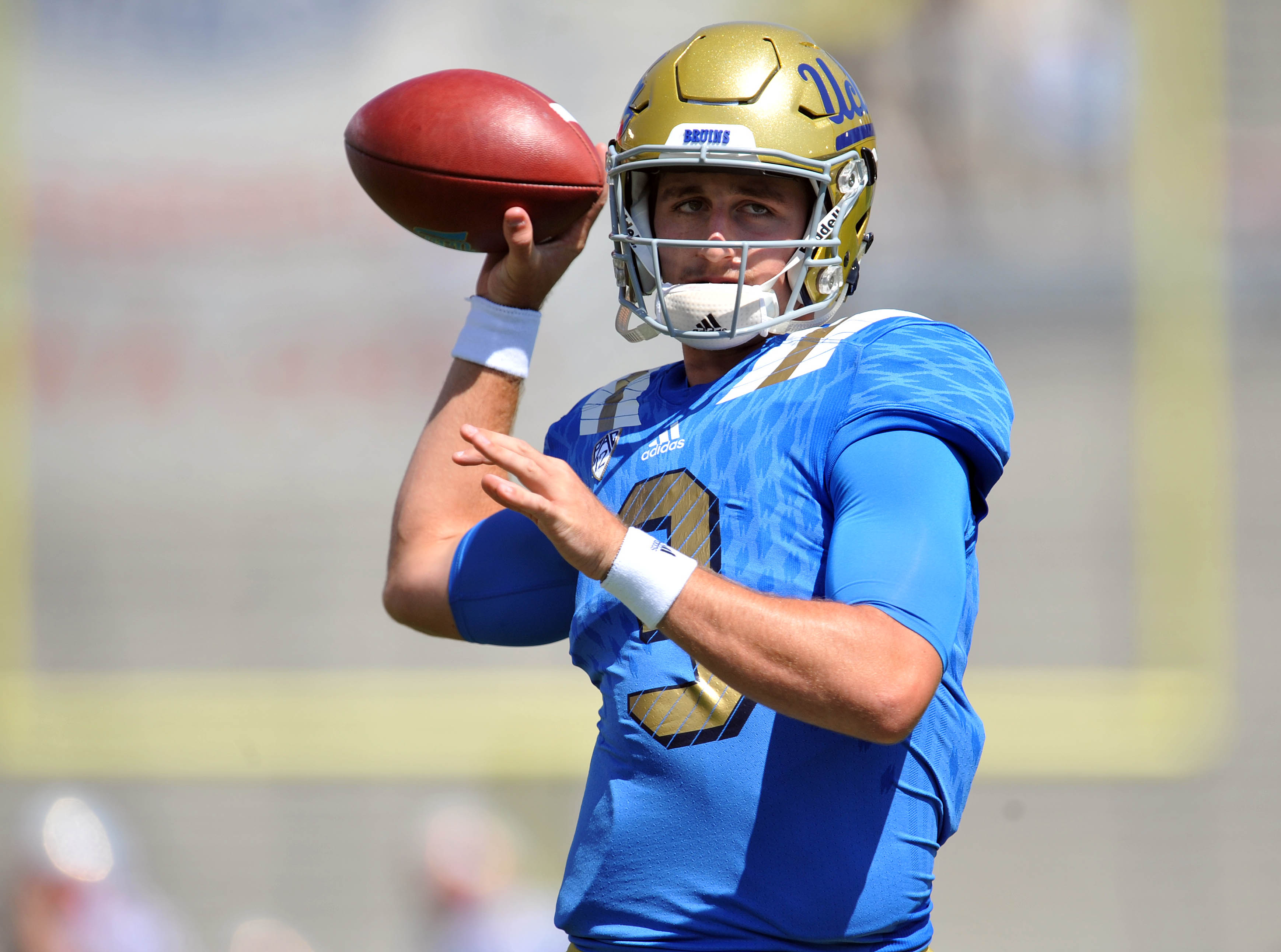 We have a picture of Josh Rosen in blue!