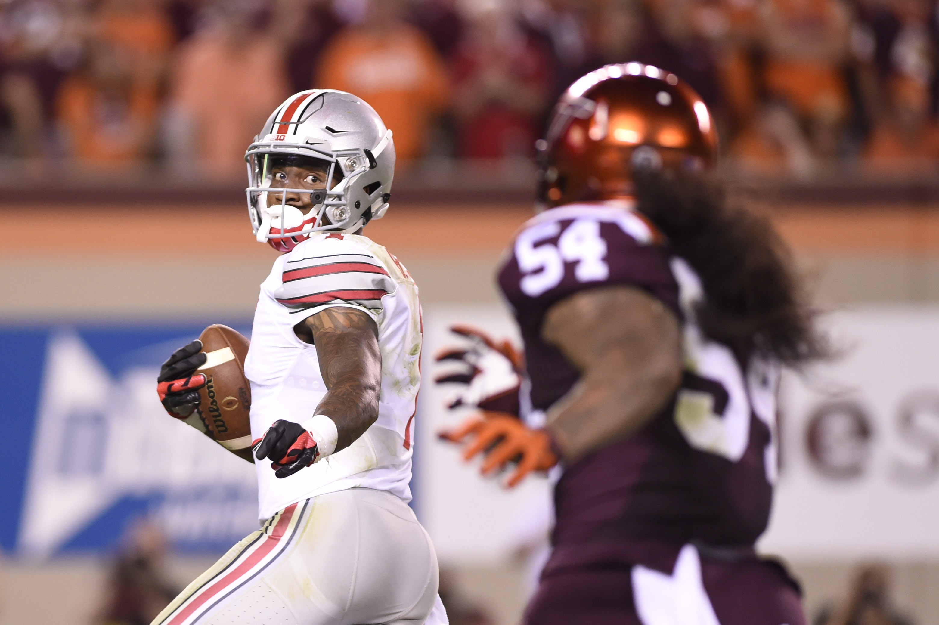 Why did Braxton Miller inflict this heartless spin move on these poor Hokies?