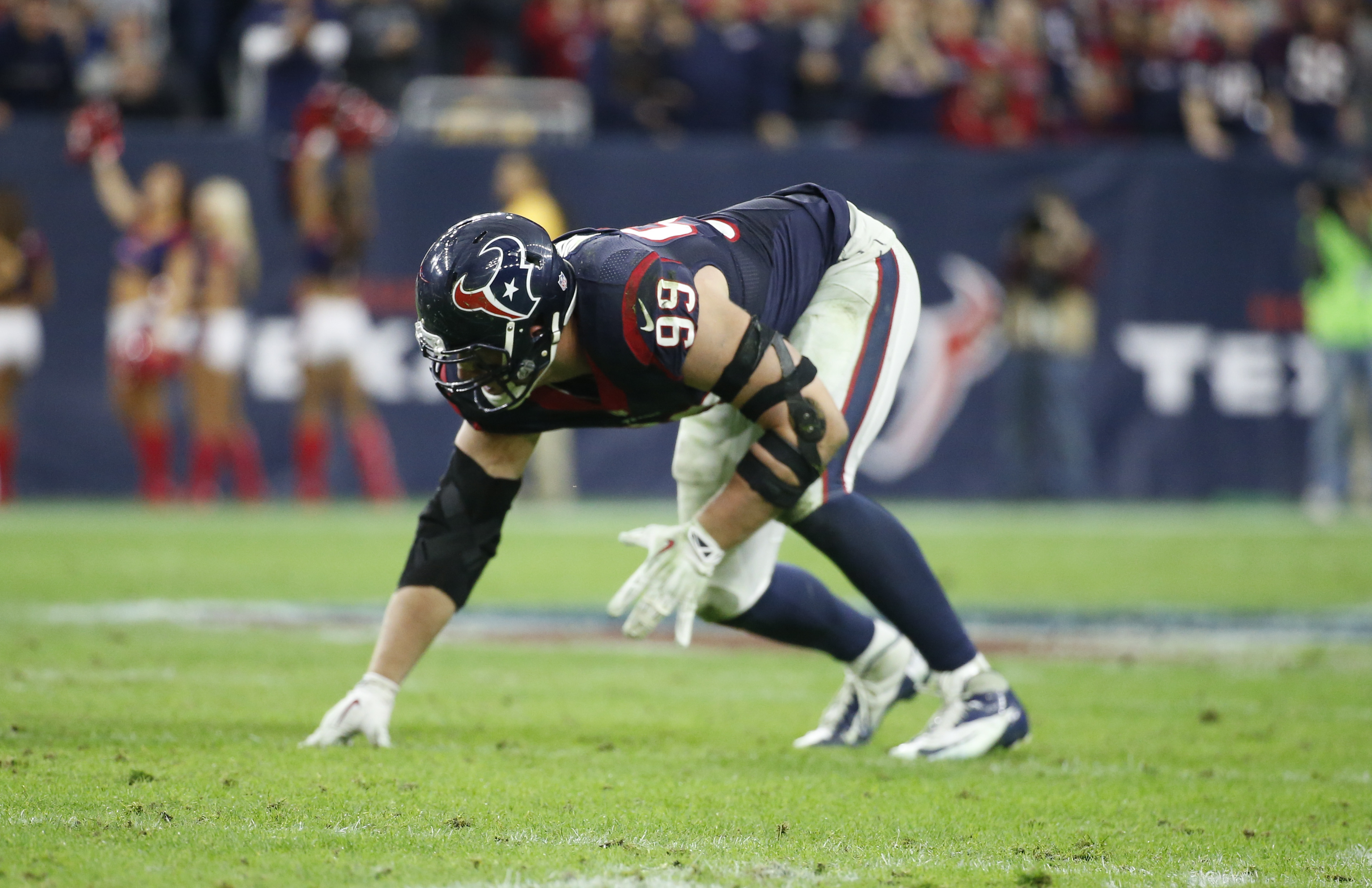 From play to play, J.J. Watt decides where to line up.