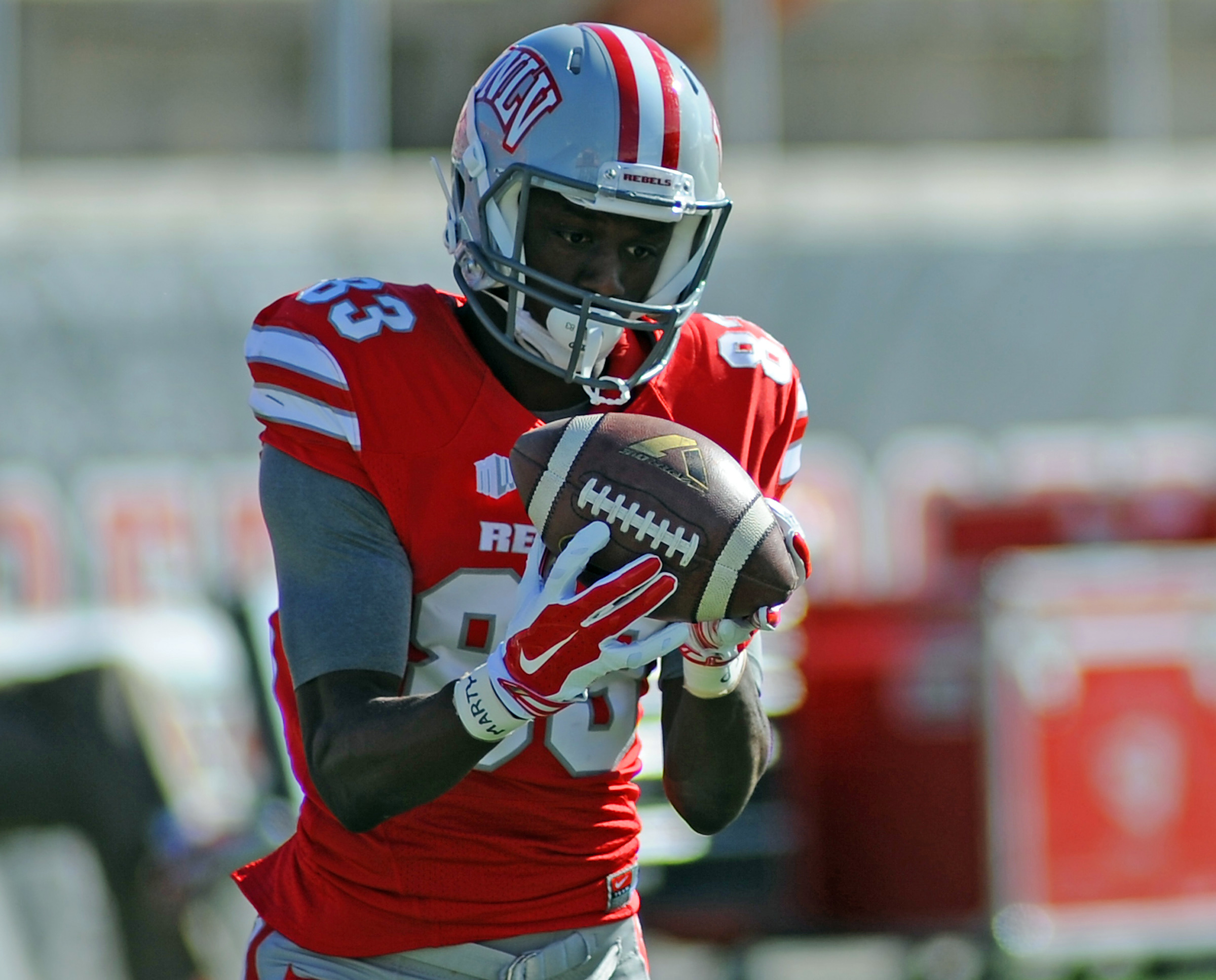 On Saturday, UCLA will try to contain UNLV's big play receiver, sophomore Devonte Boyd.