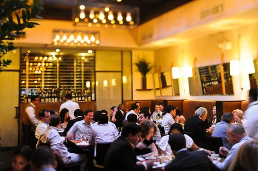 Scarpetta NYC, photographed in 2011.