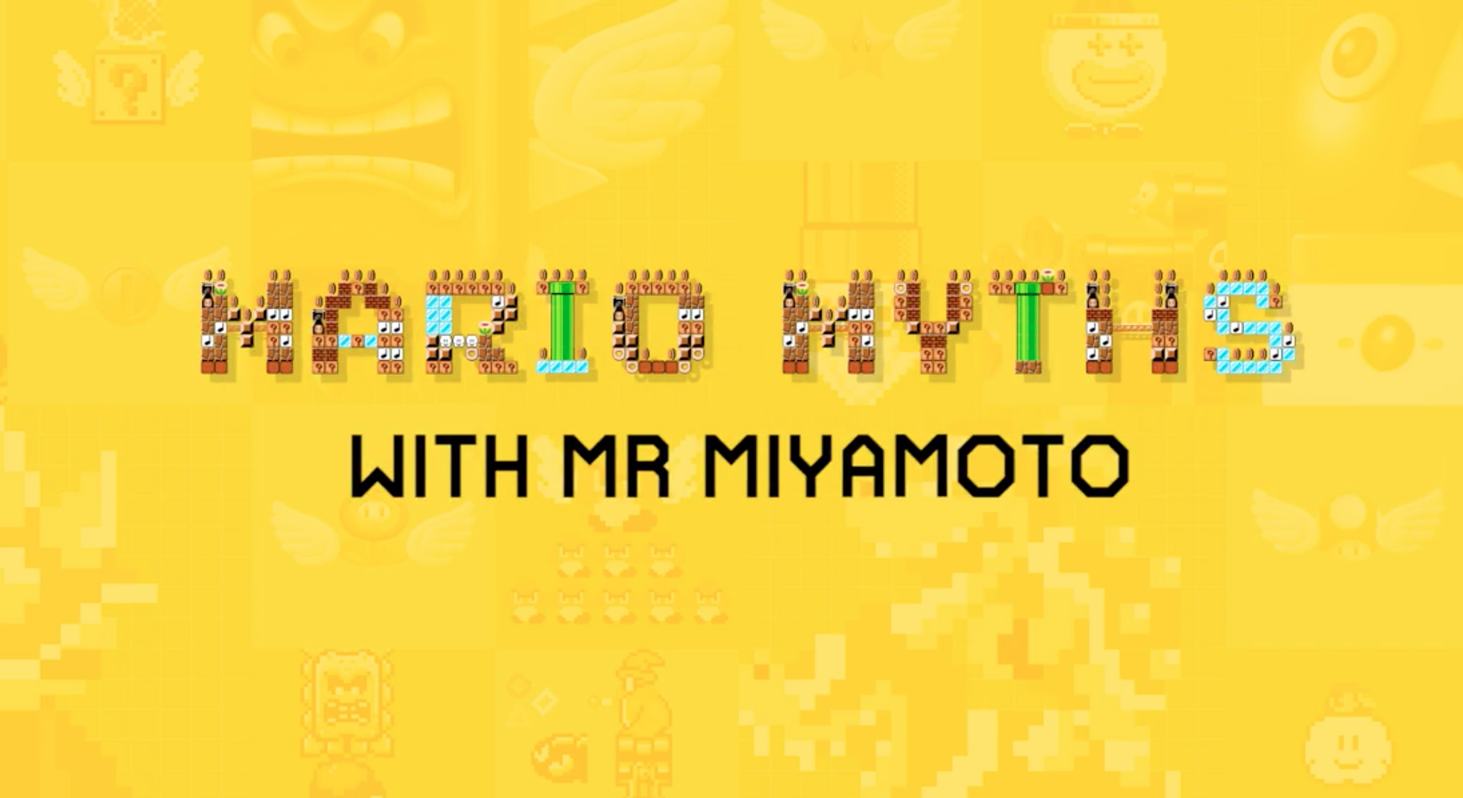 Miyamoto reveals the truth about Bowser Jr., Super Mario 3 myths