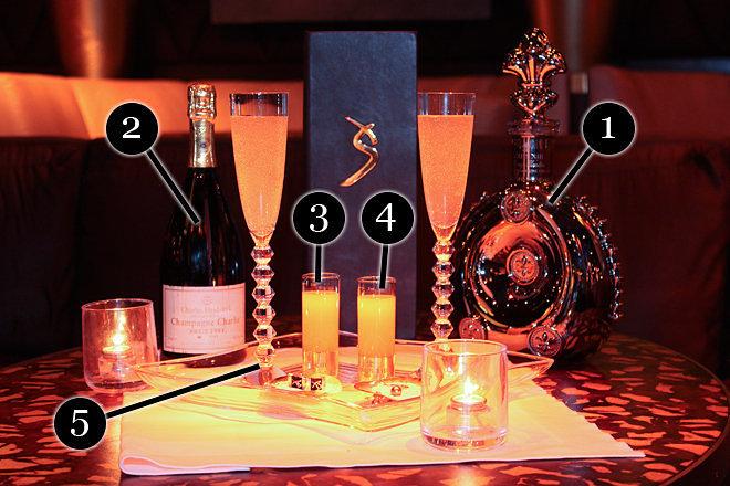 The $10,000 Ono Cocktail at XS Nightclub in Las Vegas