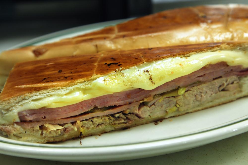 The Cuban Sandwich at Versailles in Miami's Little Havana