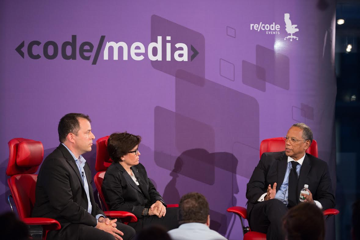An Evening with Code/Media: Re/code's Peter Kafka and Kara Swisher interview Dean Baquet of The New York Times (9/9/15)