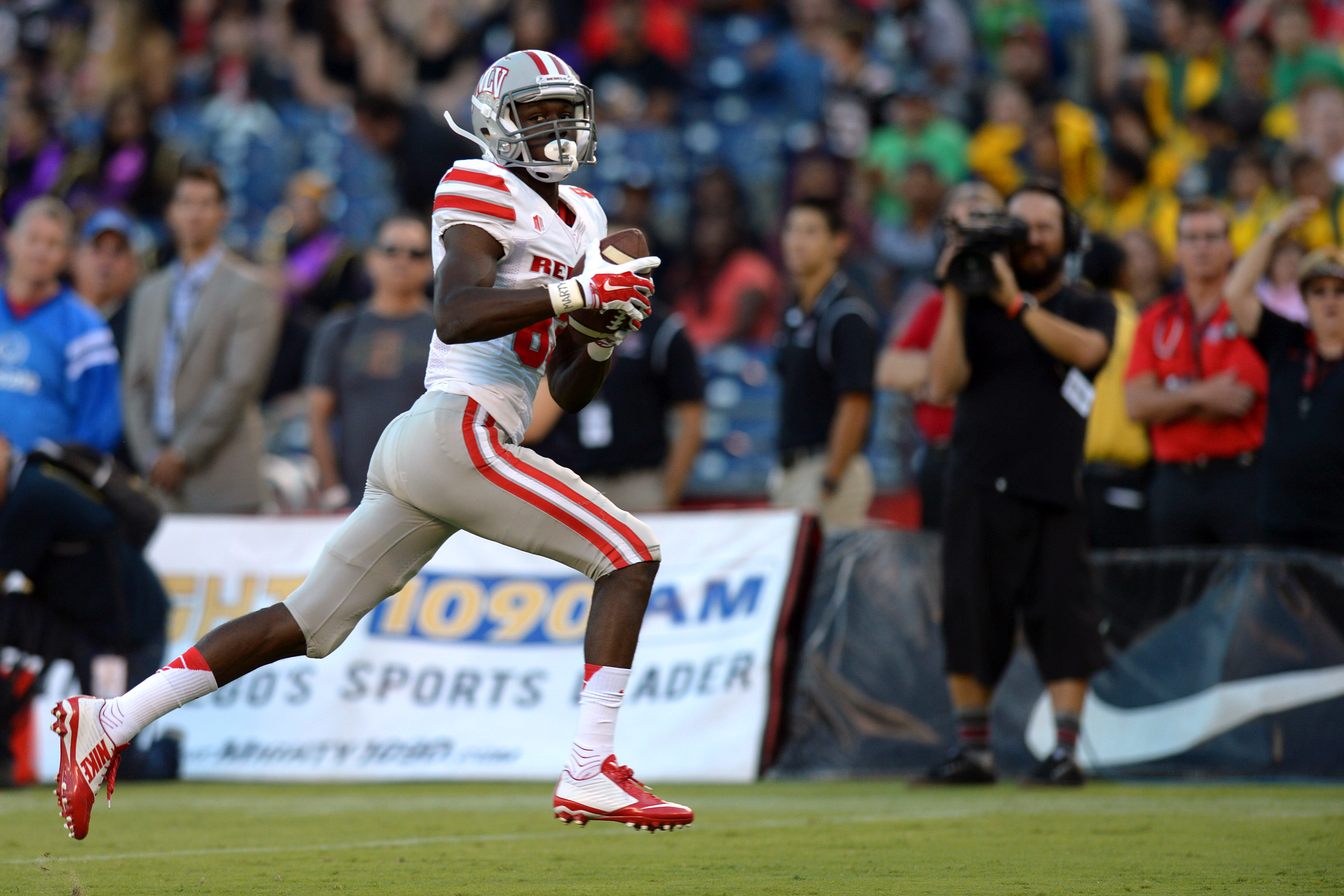 Devonte Boyd is a big time playmaker at receiver for the UNLV Rebels