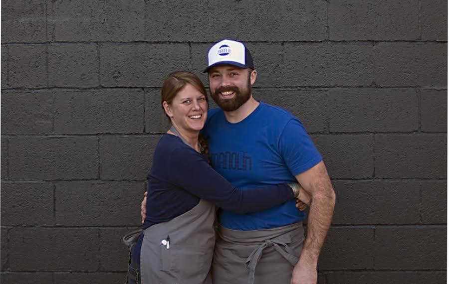 Rachel Johnson and Joe Sundberg