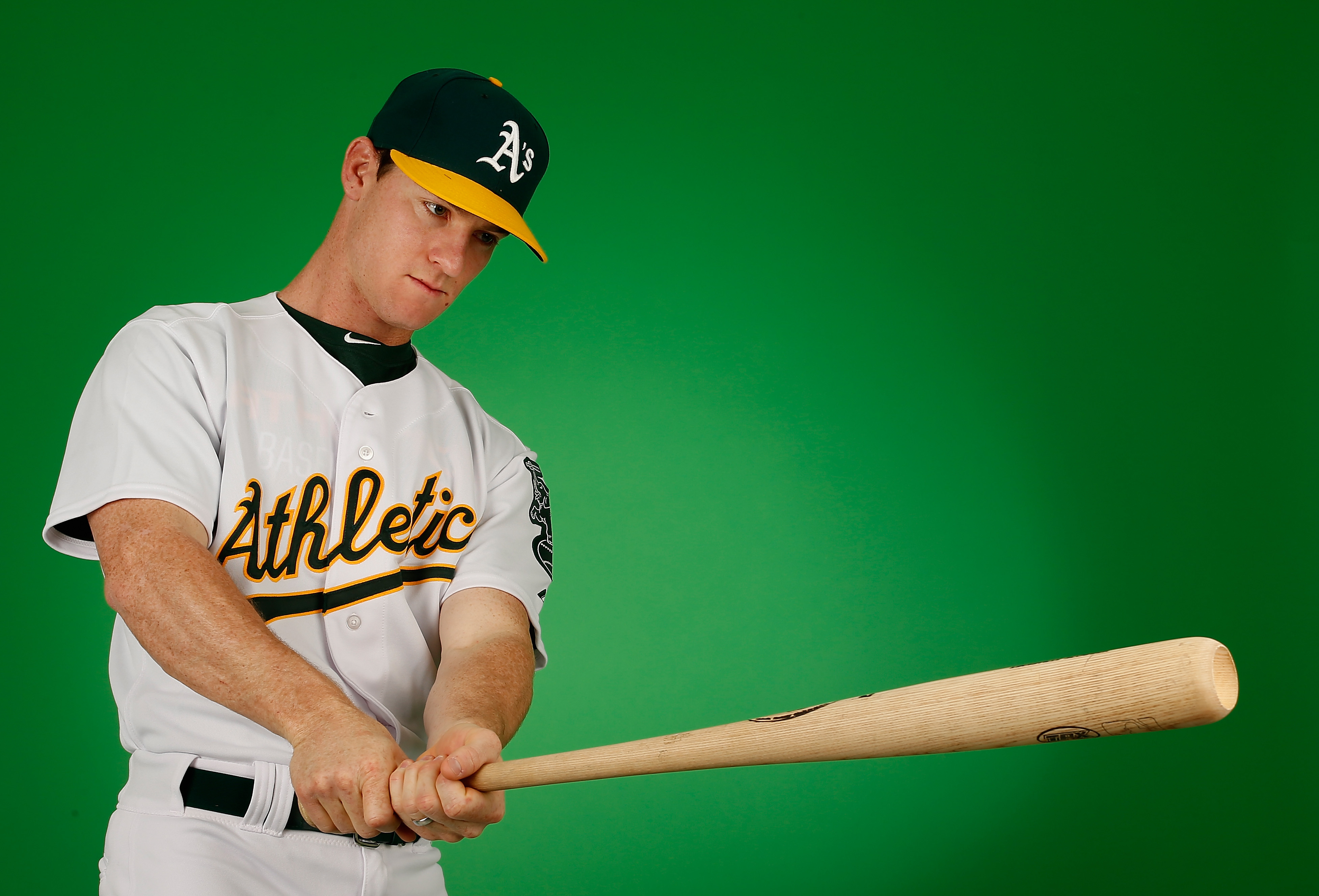 A's minor league hit leader Joey Wendle