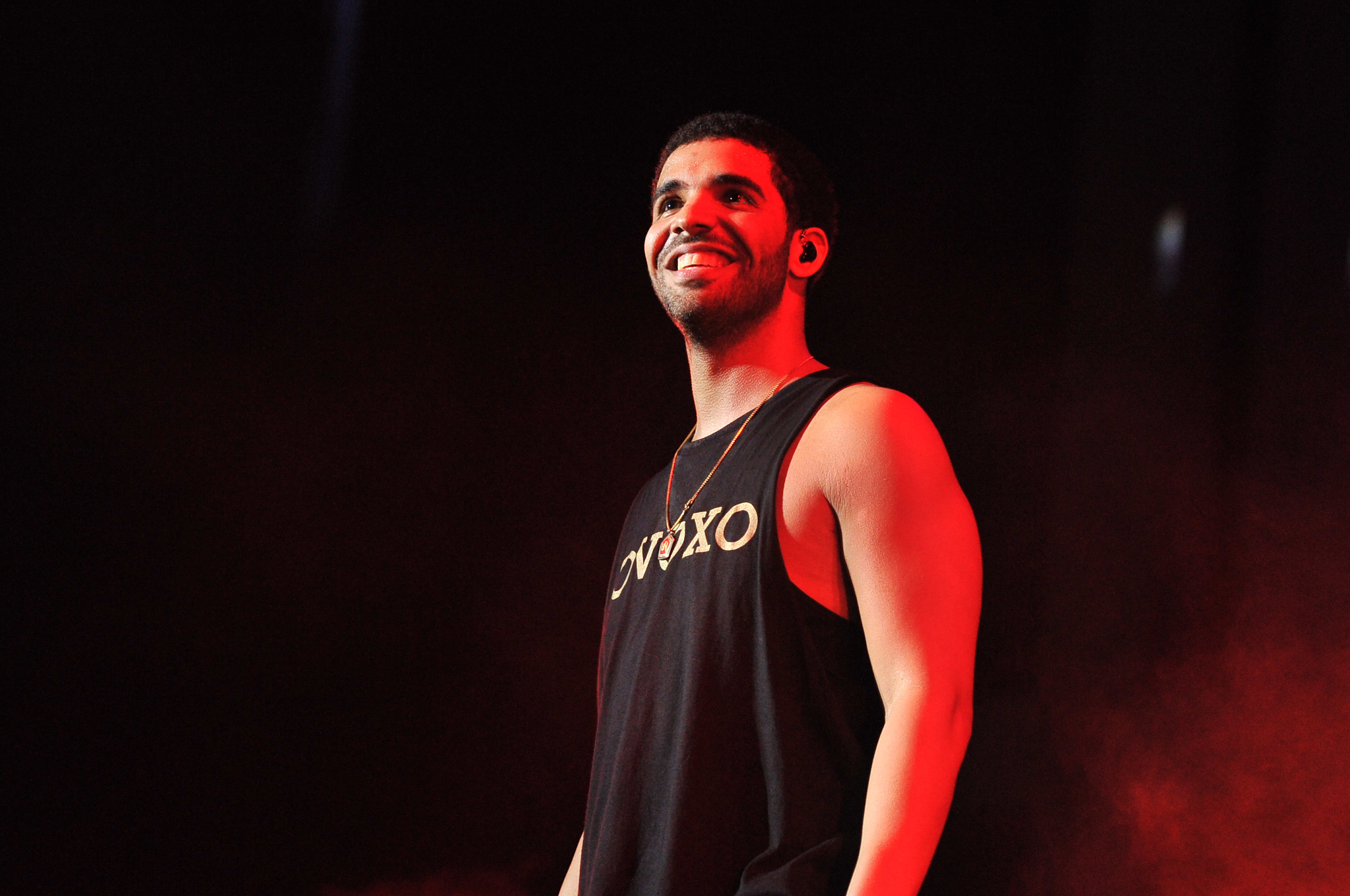 Drake at the 2nd annual OVO Festival in Toronto.