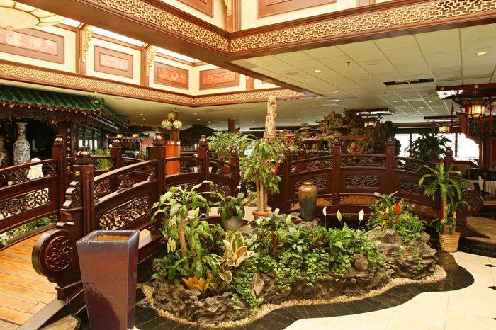 The opulent restaurant when it was Jin