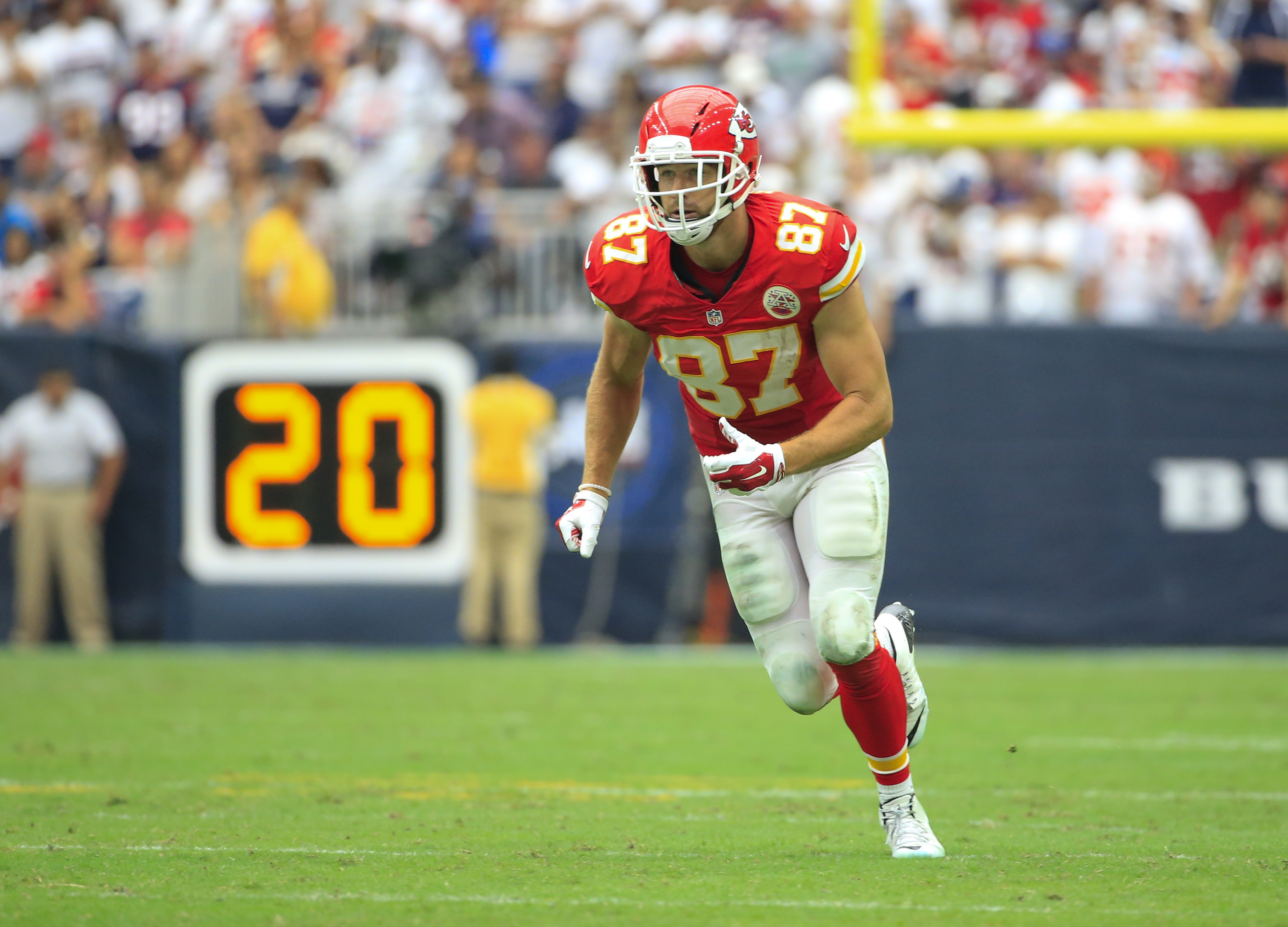 Kelce-smash will soon rival the Gronk-smash.