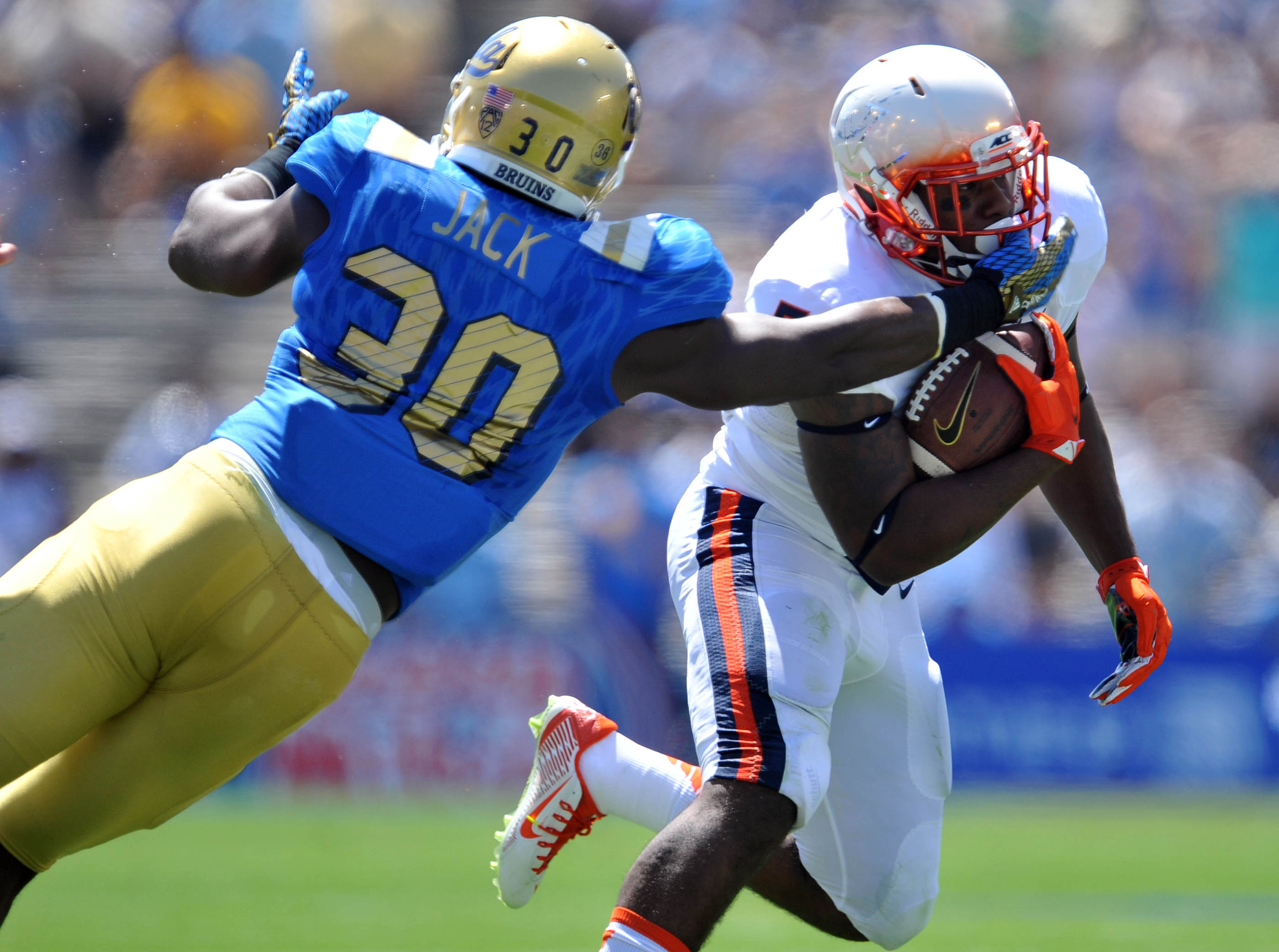 """Myles Jack got a """"direct speaking to"""" about staying disciplined against BYU this weekend."""
