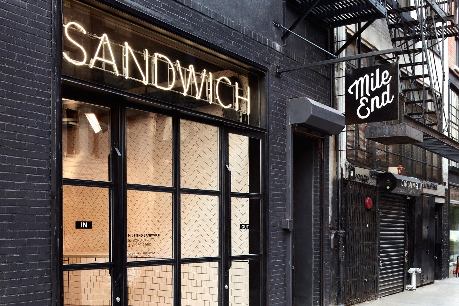 Mile End Sandwich, NoHo