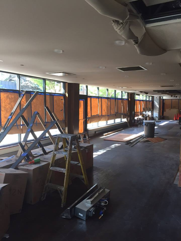 Forest grill is in the midst of a major revamp.