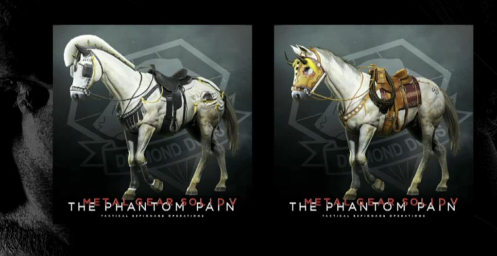 Metal Gear Solid 5 DLC includes horse armor and more