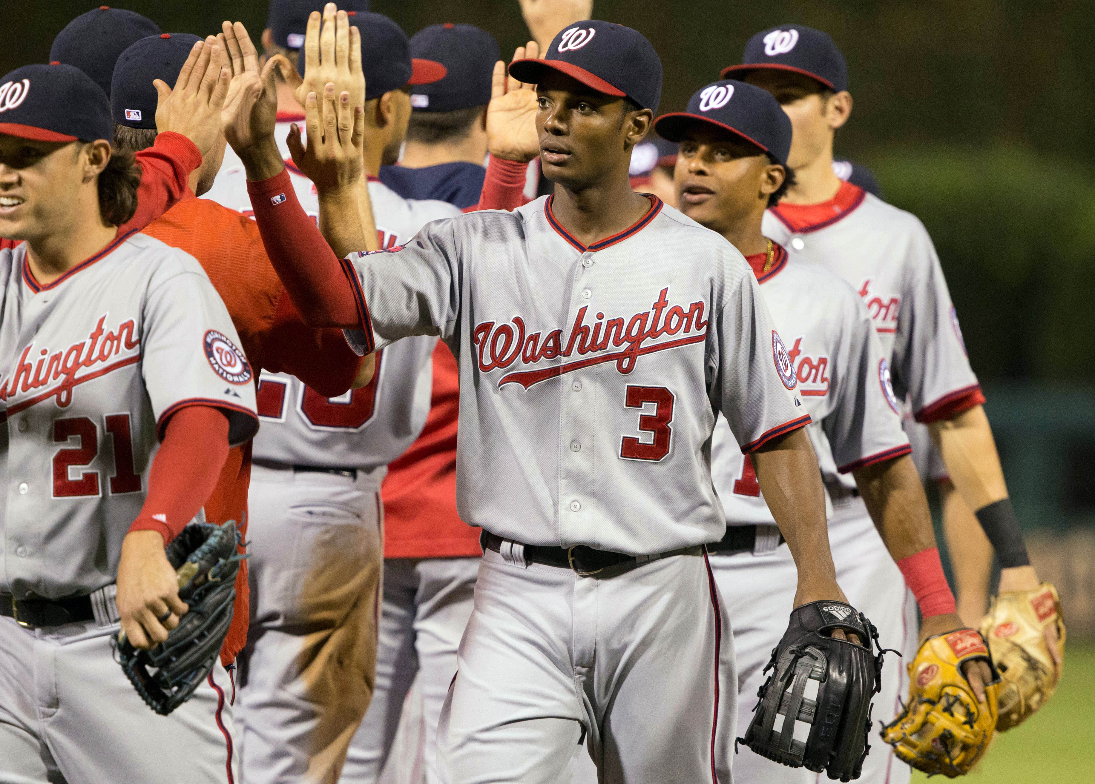 After gaining a couple of games the past two days, the Nats are 7.5 back with 17 to play. Is there any hope?